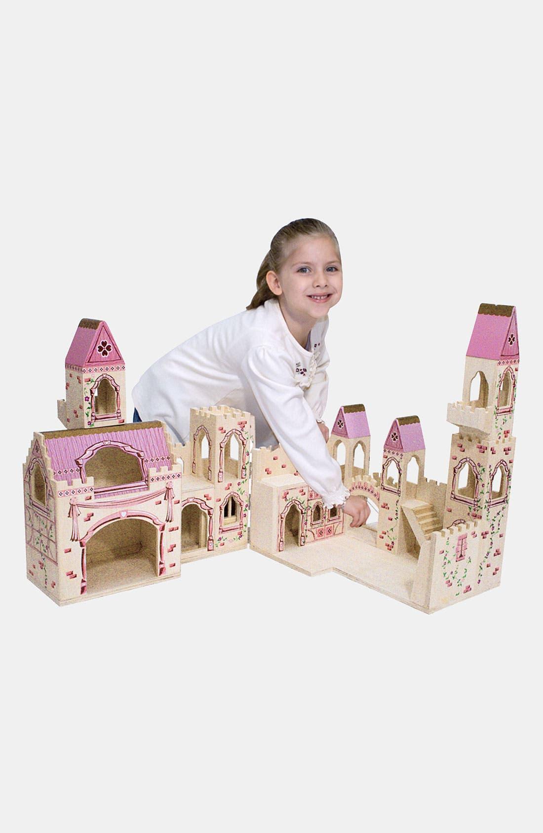 Toddler Melissa  Doug Wood Play Castle