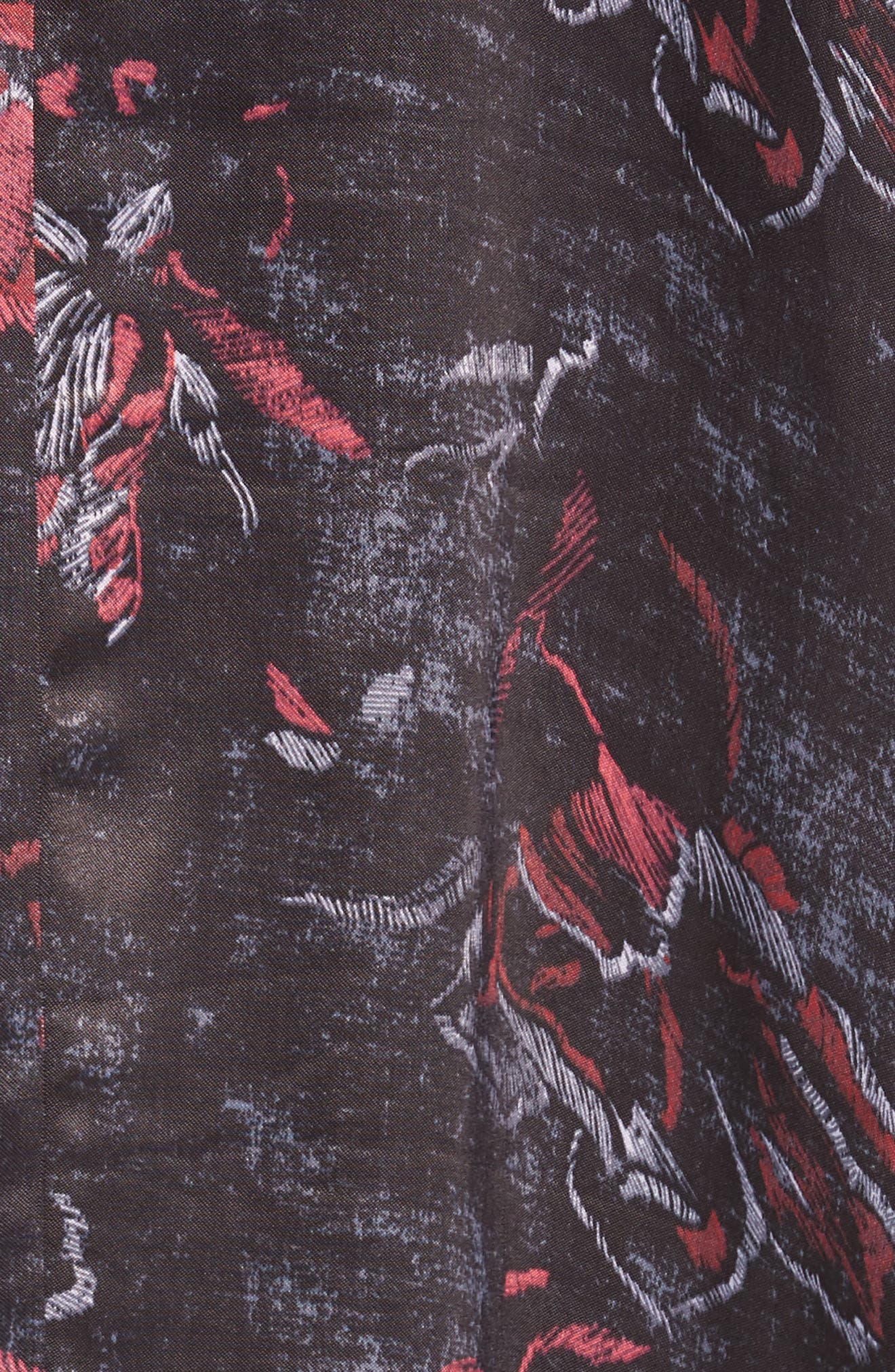 High/Low Kimono,                             Alternate thumbnail 5, color,                             001