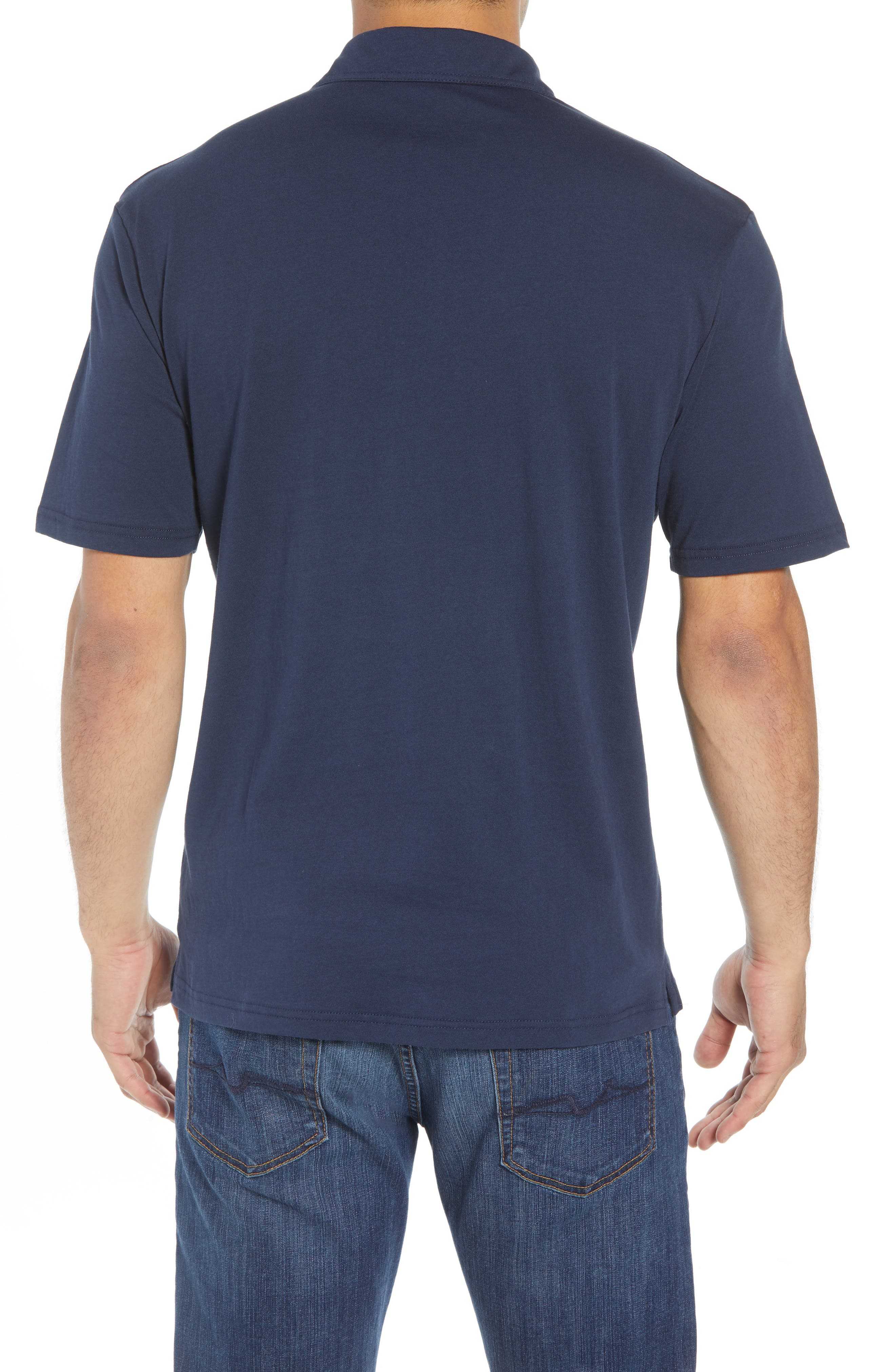 The Original Classic Fit Polo,                             Alternate thumbnail 2, color,                             NAVY
