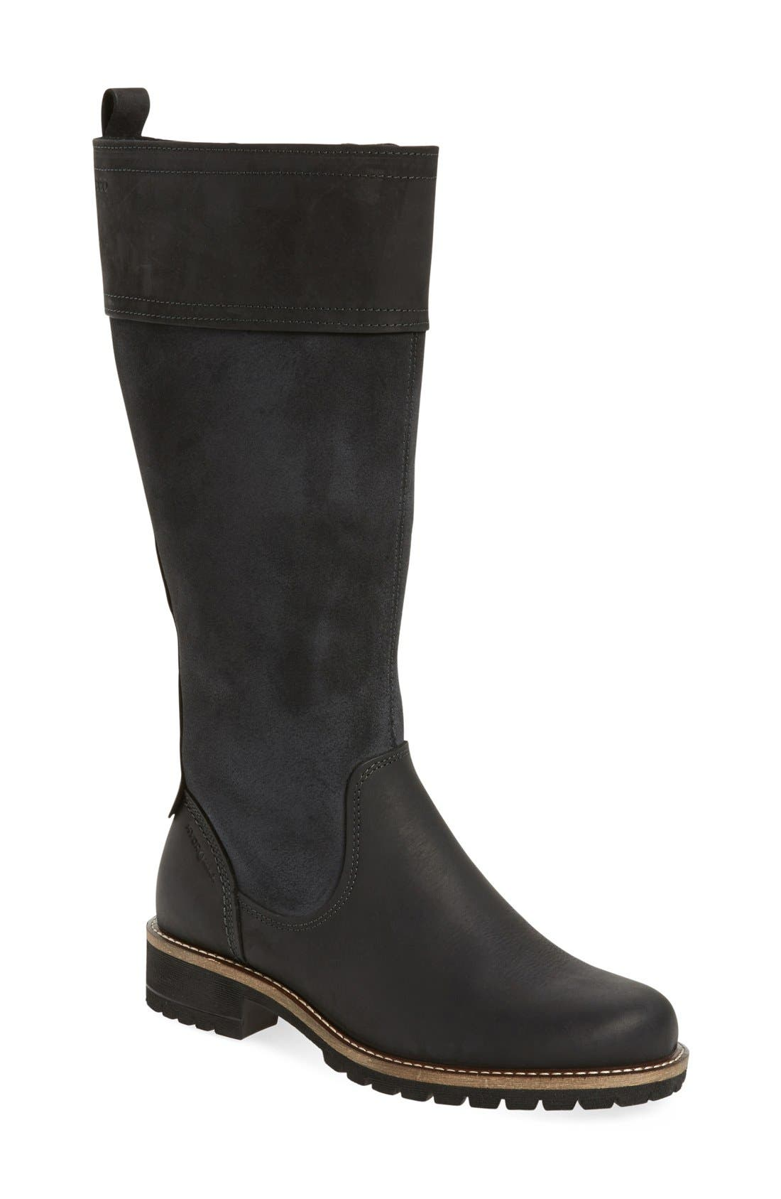 'Elaine' Water Resistant Boot, Main, color, 001
