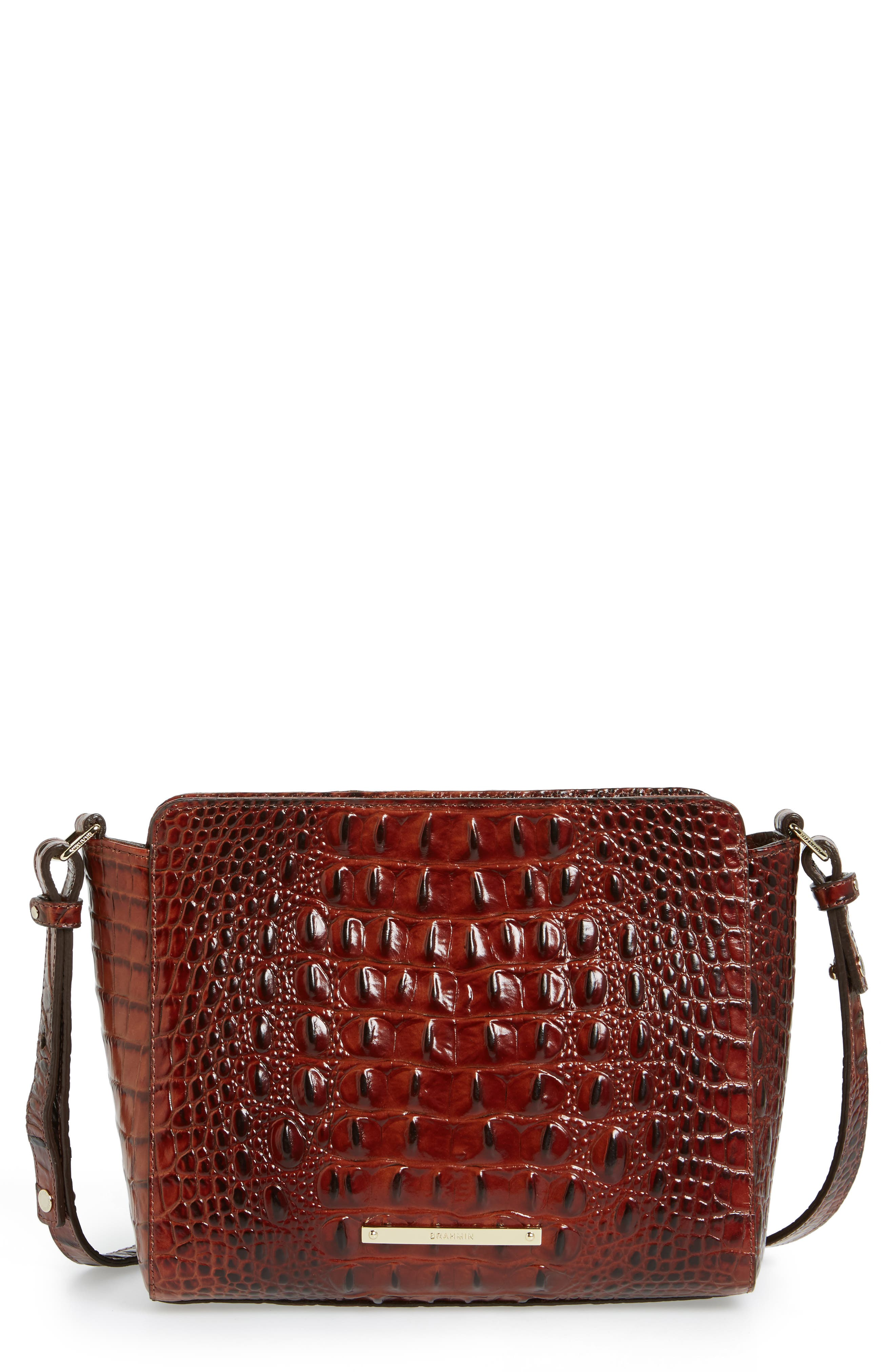 Melbourne Carrie Leather Crossbody Bag,                             Main thumbnail 2, color,