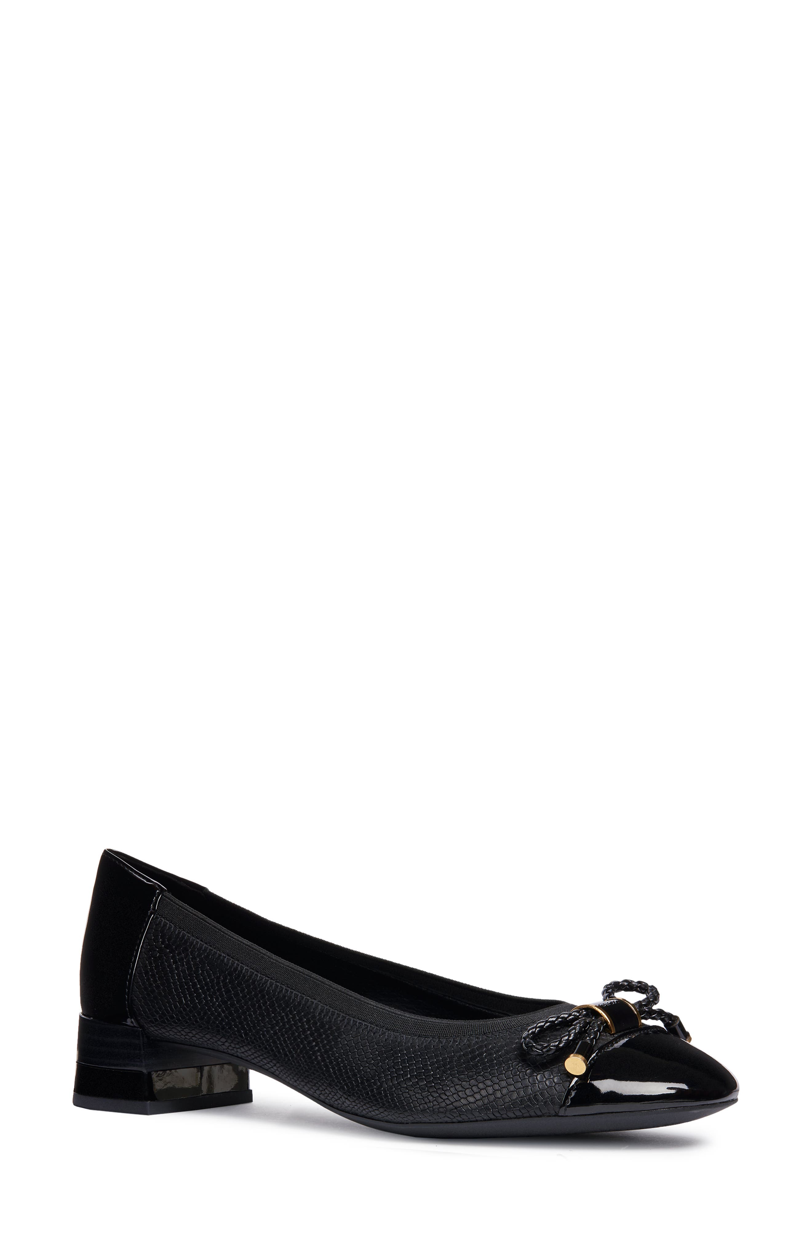 Chloo Pump,                         Main,                         color, BLACK LEATHER