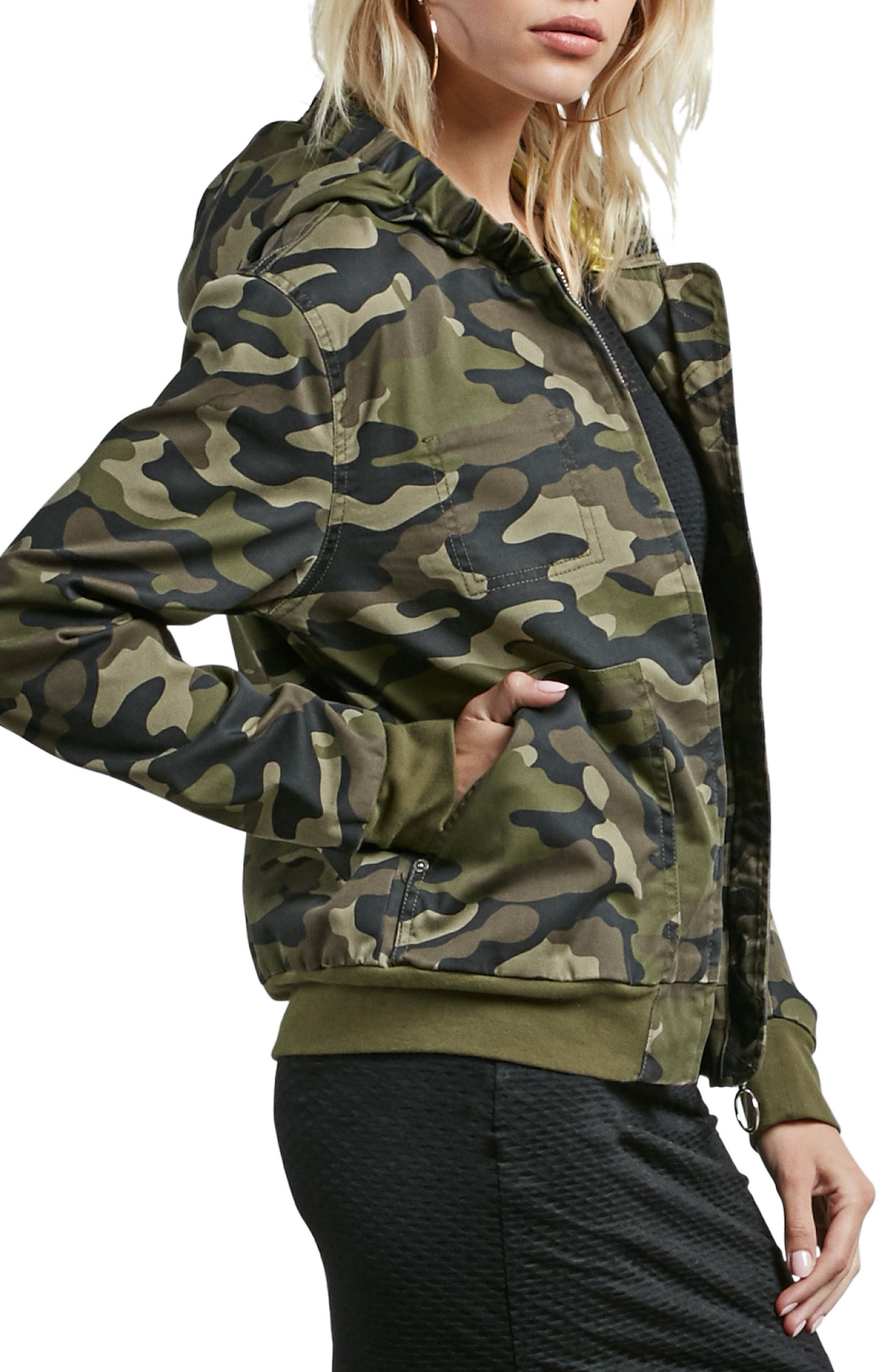 Frochickie Bomber Jacket,                             Alternate thumbnail 4, color,                             362