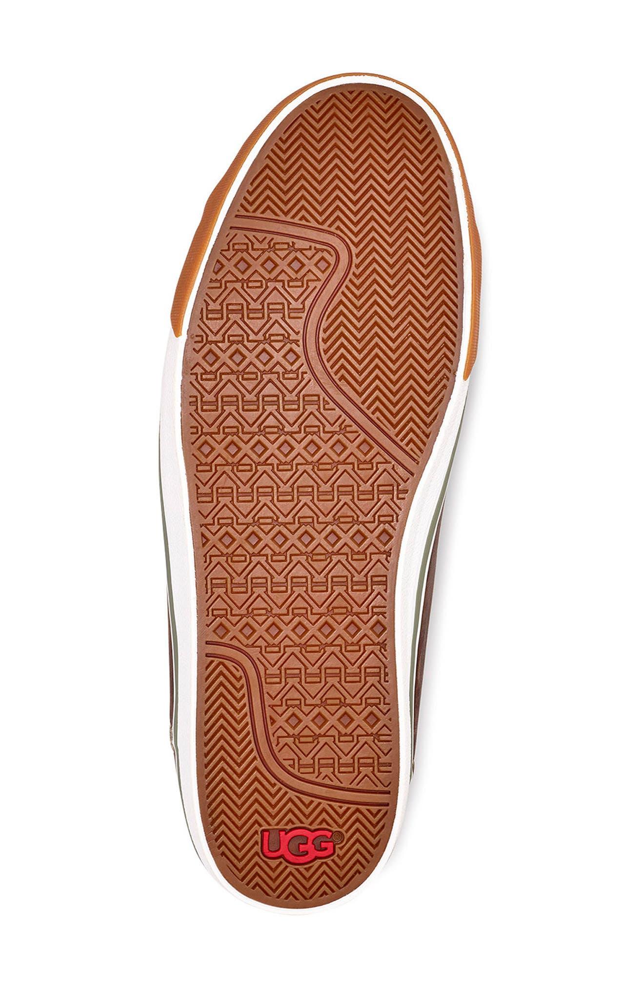 Hoyt II Waterproof Sneaker,                             Alternate thumbnail 5, color,                             GRIZZLY