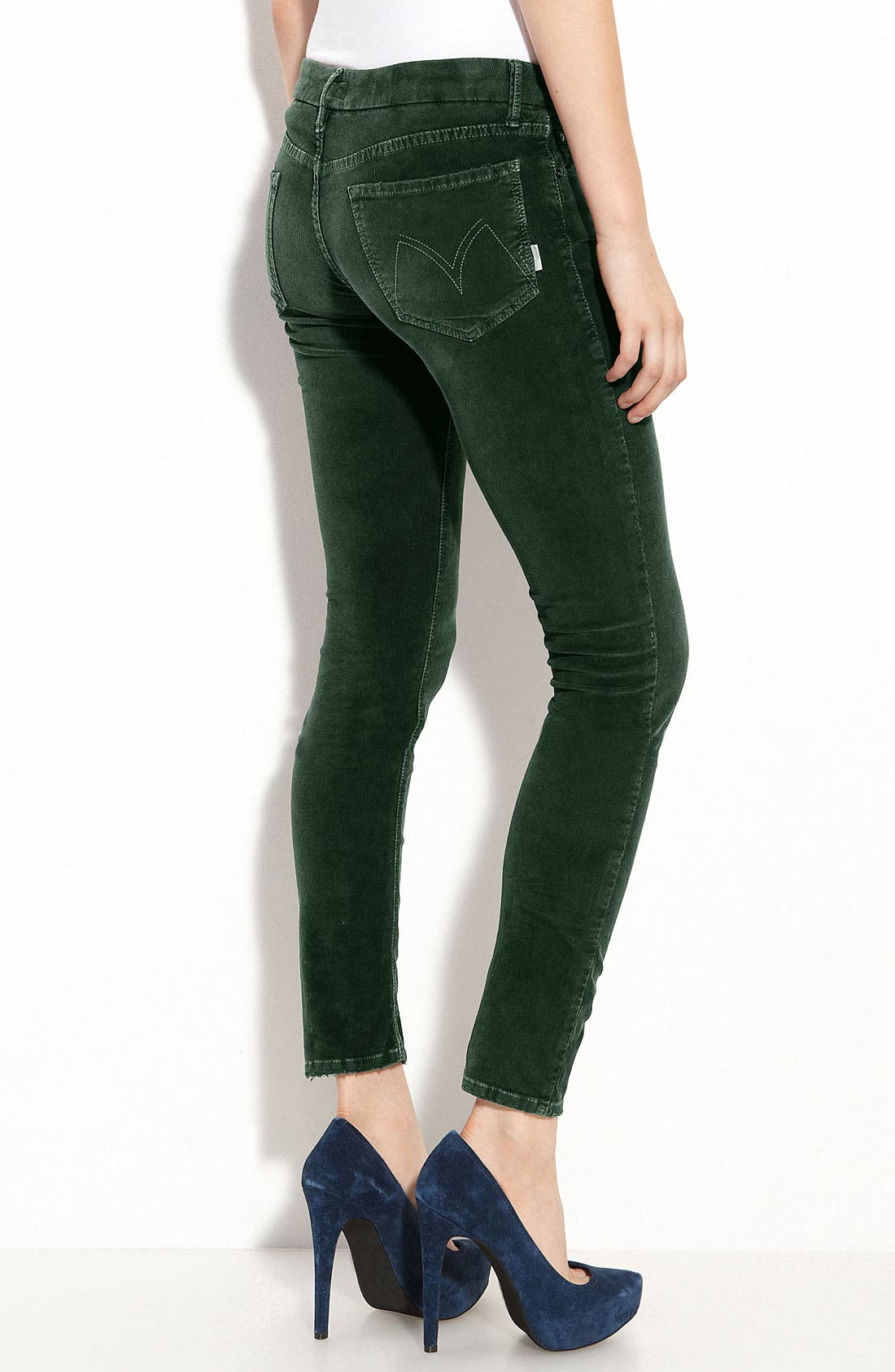 MOTHER,                             'The Looker' Skinny Stretch Corduroy Pants,                             Alternate thumbnail 2, color,                             300