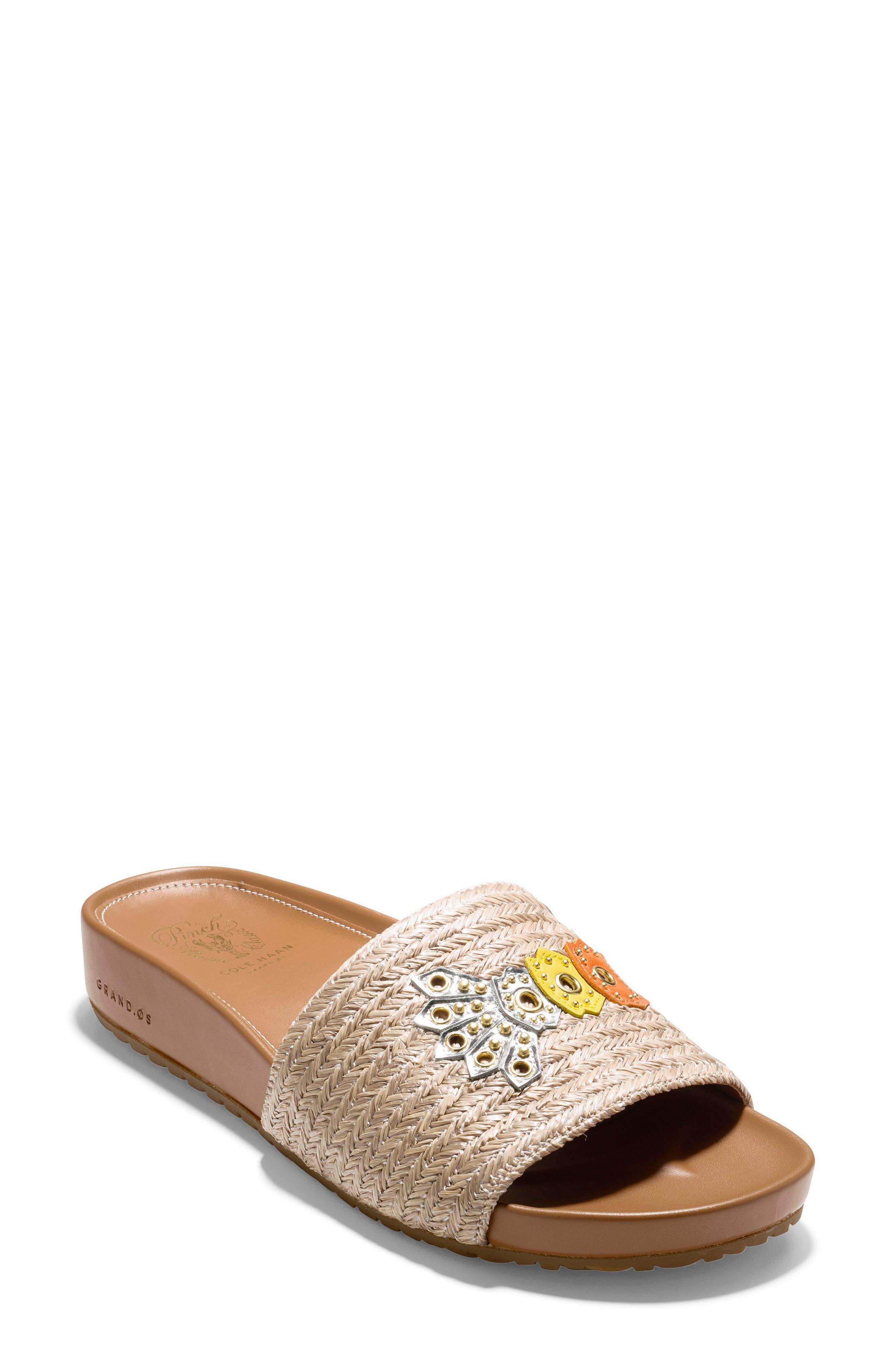 Pinch Montauk Lobster Slide Sandal,                             Main thumbnail 3, color,