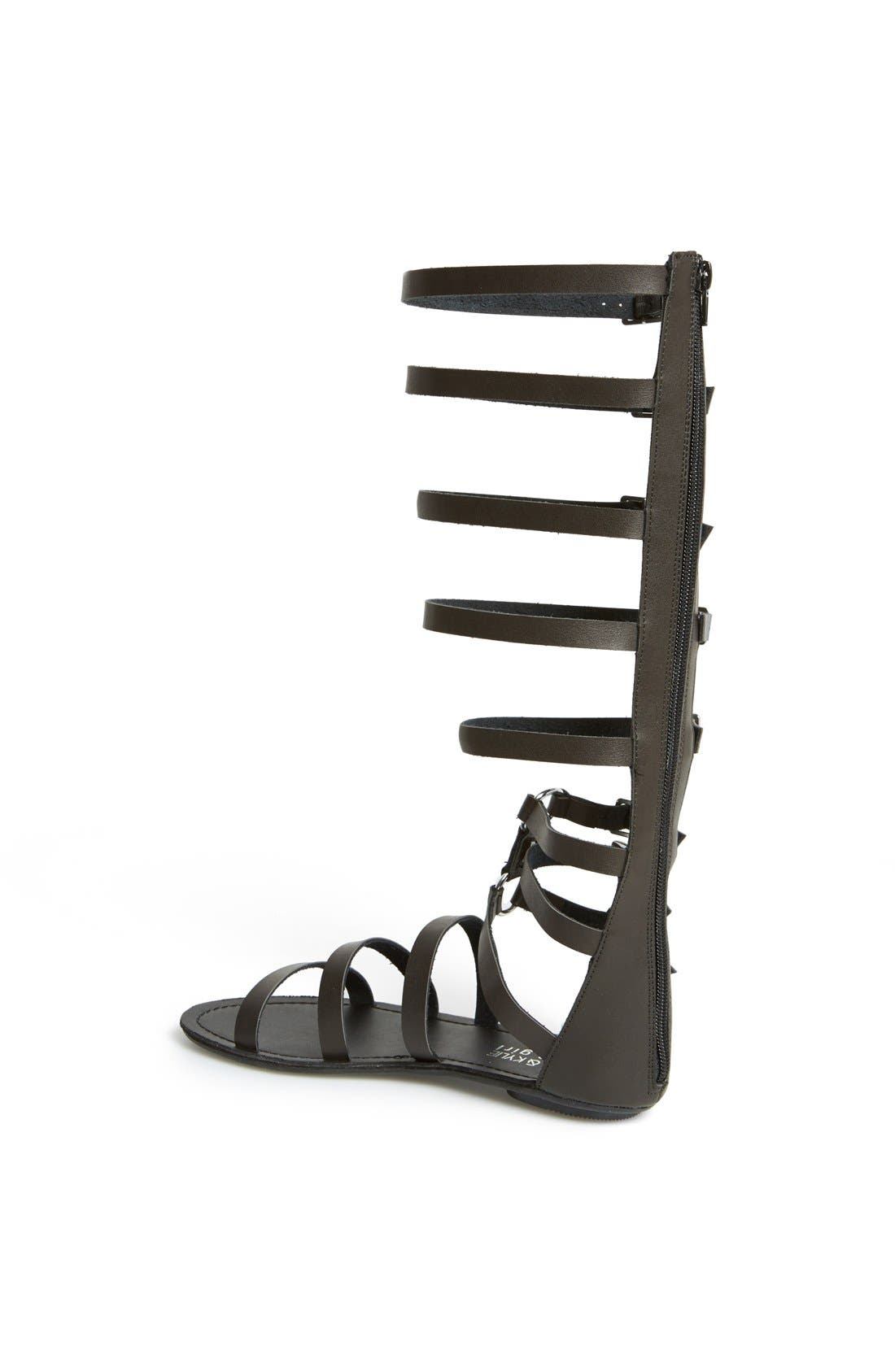 KENDALL & KYLIE,                             KENDALL + KYLIE Madden Girl 'Seriious' Sandal,                             Alternate thumbnail 4, color,                             001