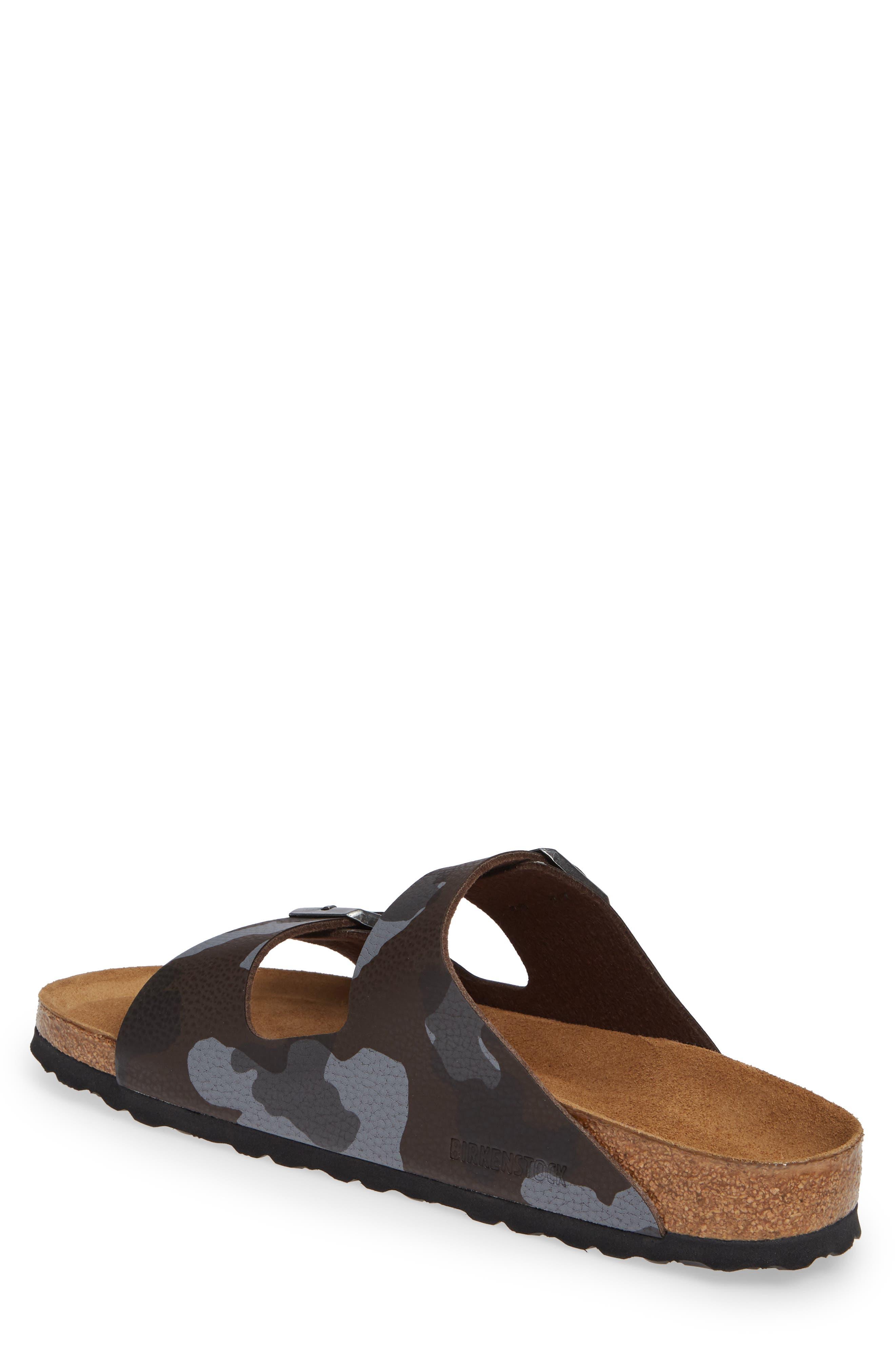 Arizona Soft Slide Sandal,                             Alternate thumbnail 2, color,                             DESERT SOIL CAMO BROWN