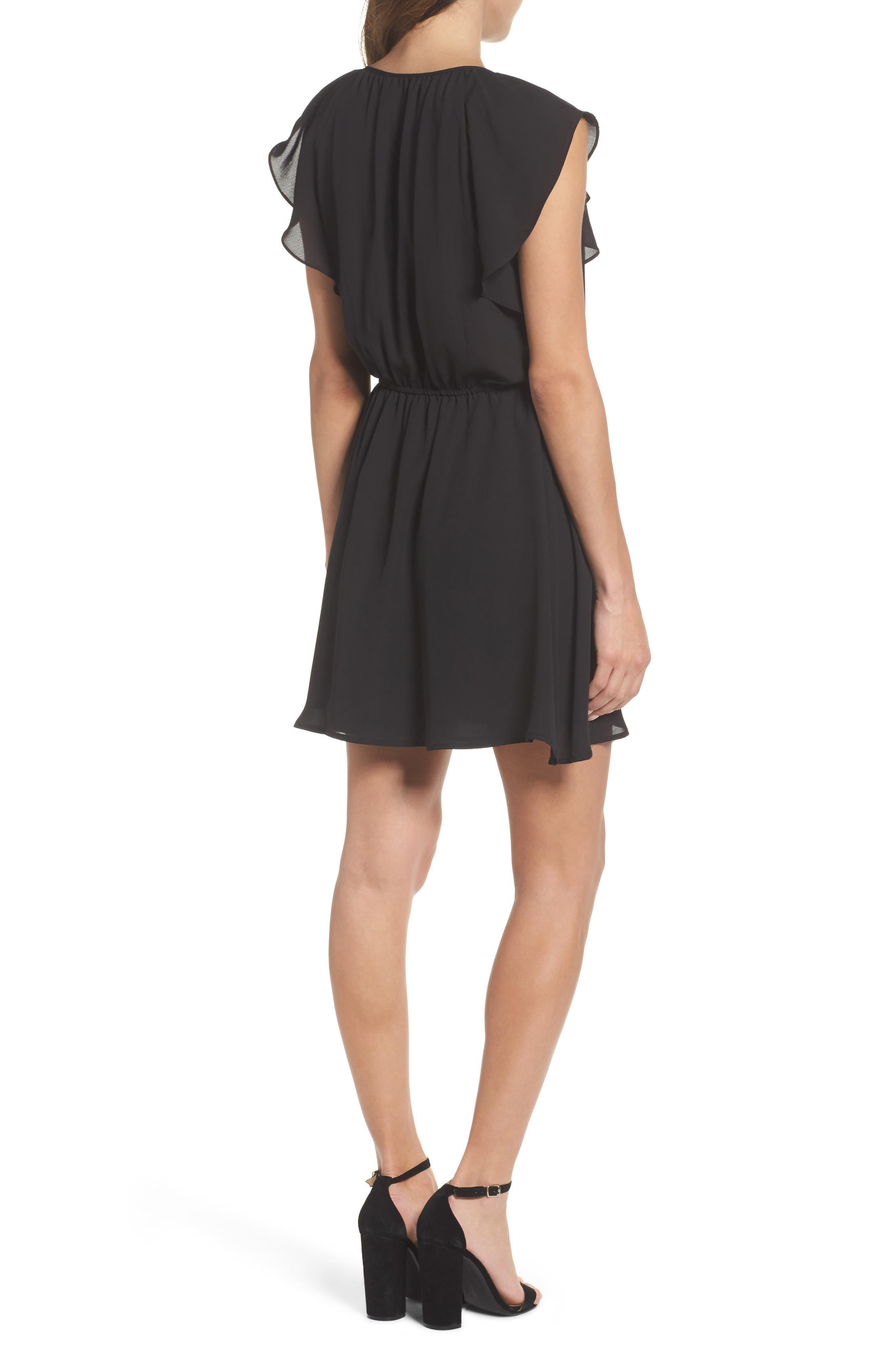 Adrienn Blouson Dress,                             Alternate thumbnail 2, color,                             001