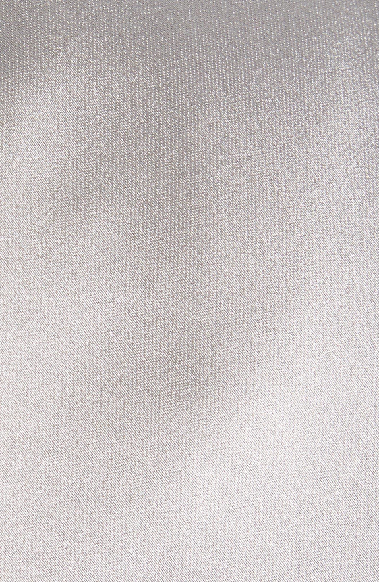 Solid Satin Silk Tie,                             Alternate thumbnail 3, color,