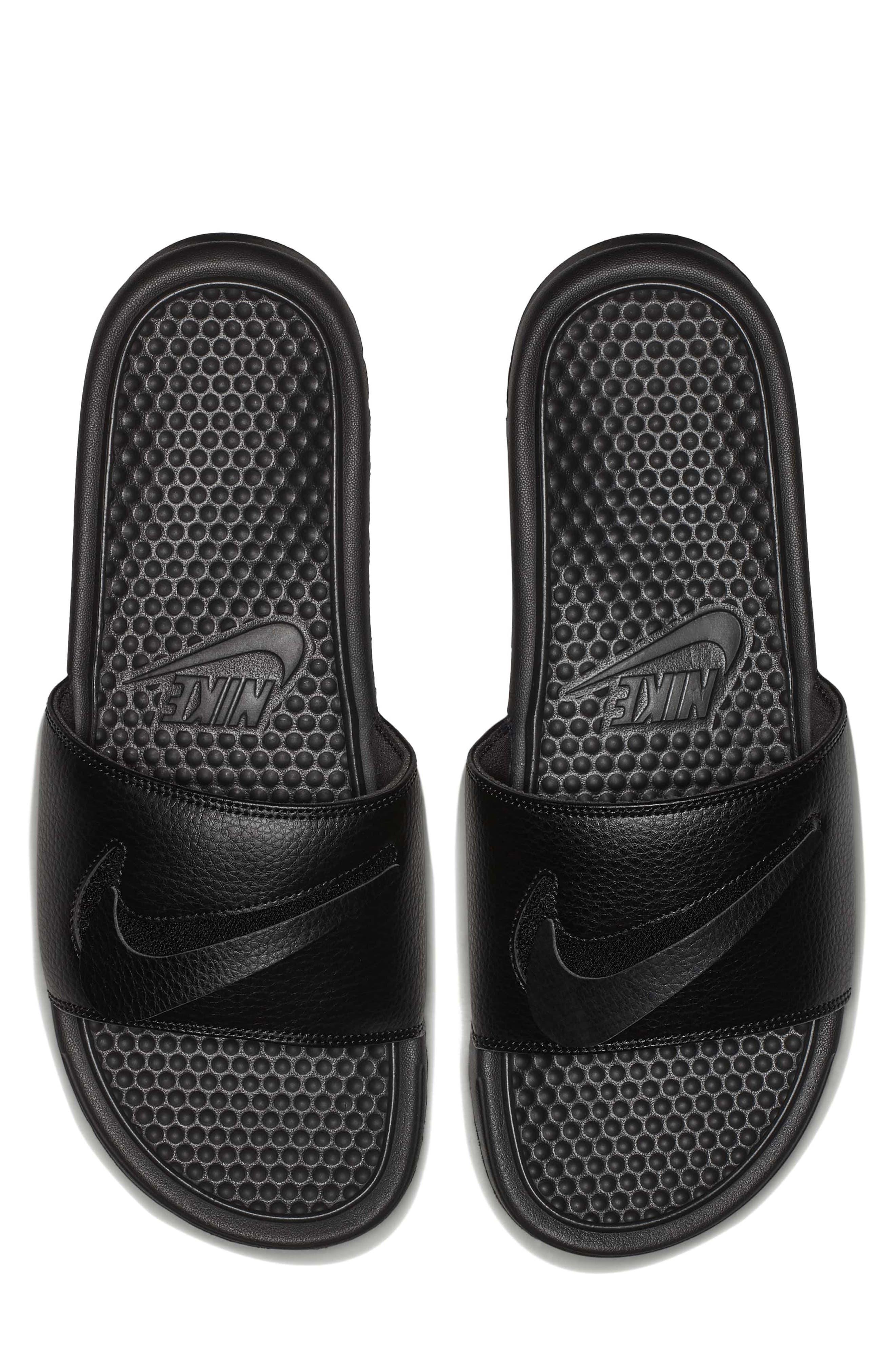 NIKE,                             Benassi JDI Customizable Slide Sandal,                             Alternate thumbnail 9, color,                             001