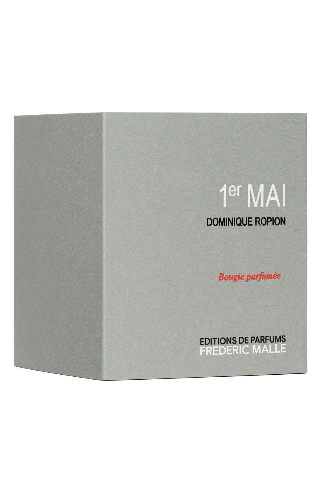 Editions de Parfums Frédéric Malle 1er Mai Candle,                             Alternate thumbnail 4, color,                             000