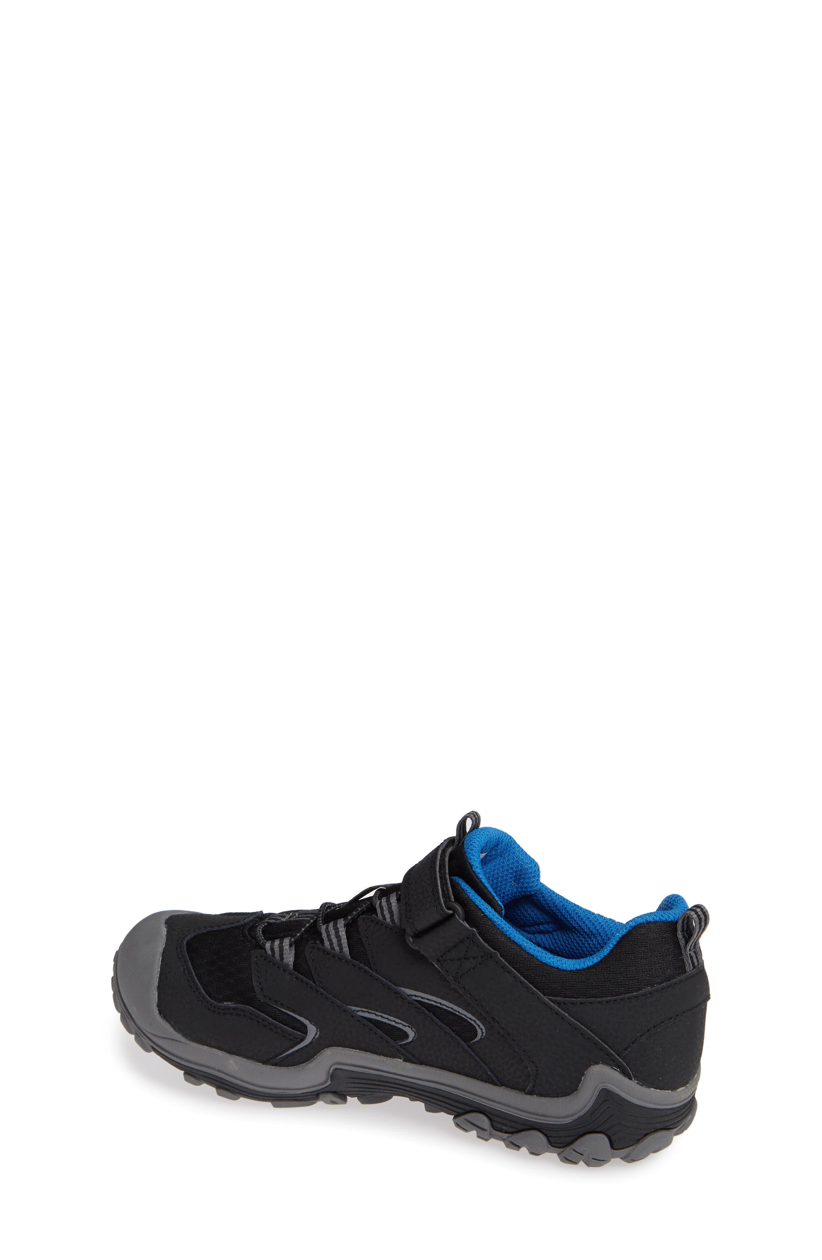 Chameleon 7 Waterproof Sneaker,                             Alternate thumbnail 2, color,                             BLACK