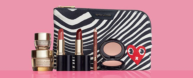 Choose a free gift with $37.50 Estée Lauder purchase.