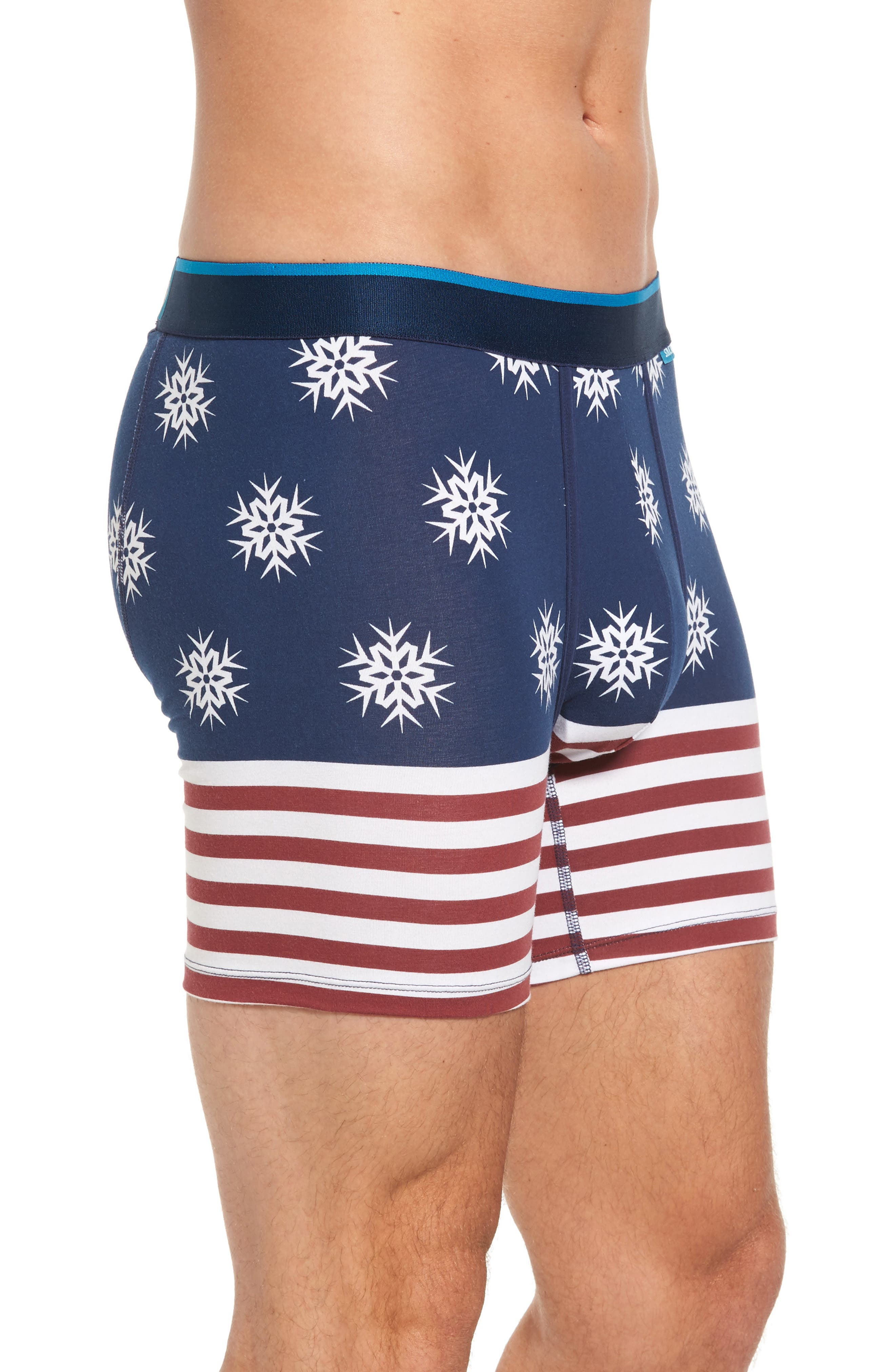 Flake Flag Boxer Briefs,                             Alternate thumbnail 3, color,                             400