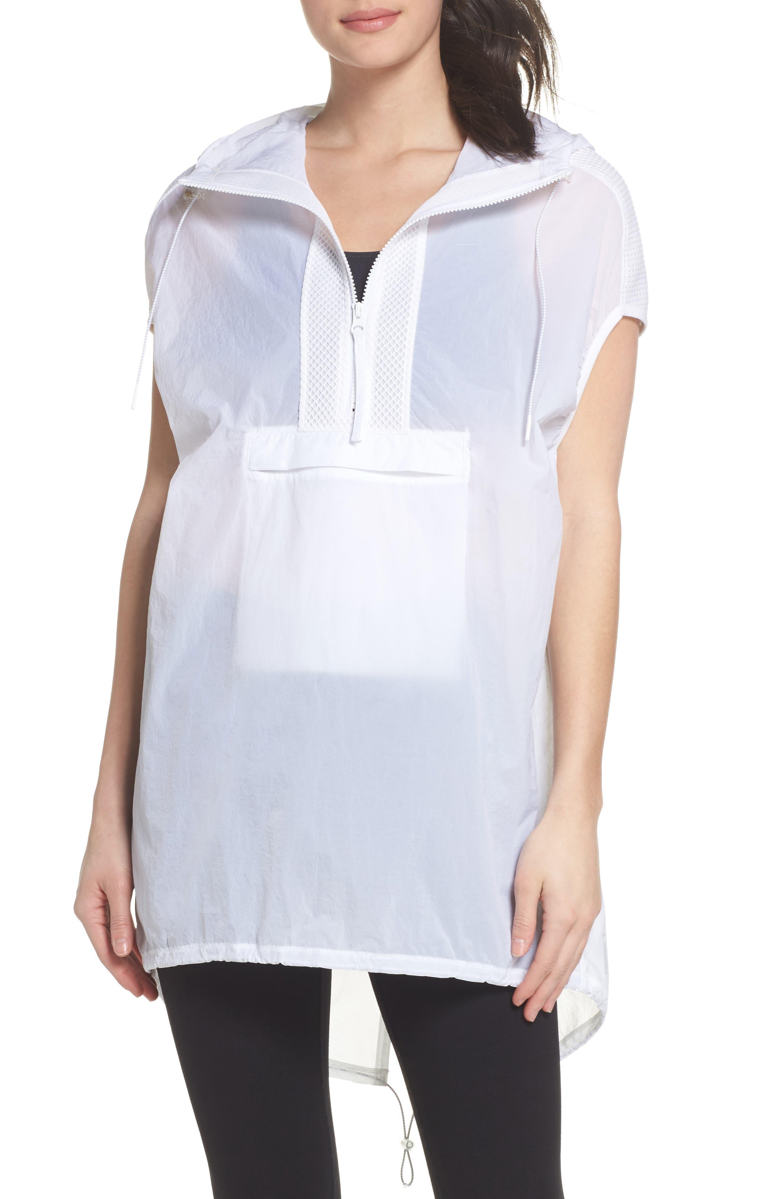 Gen Vive Hooded Vest,                         Main,                         color, 100