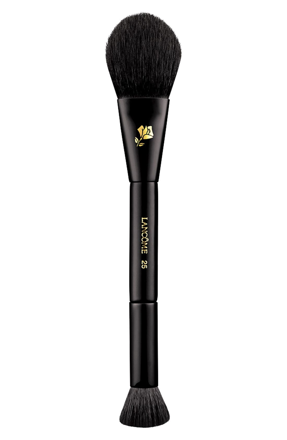Dual-Ended Cheek & Contour Brush,                             Main thumbnail 1, color,                             NO COLOR