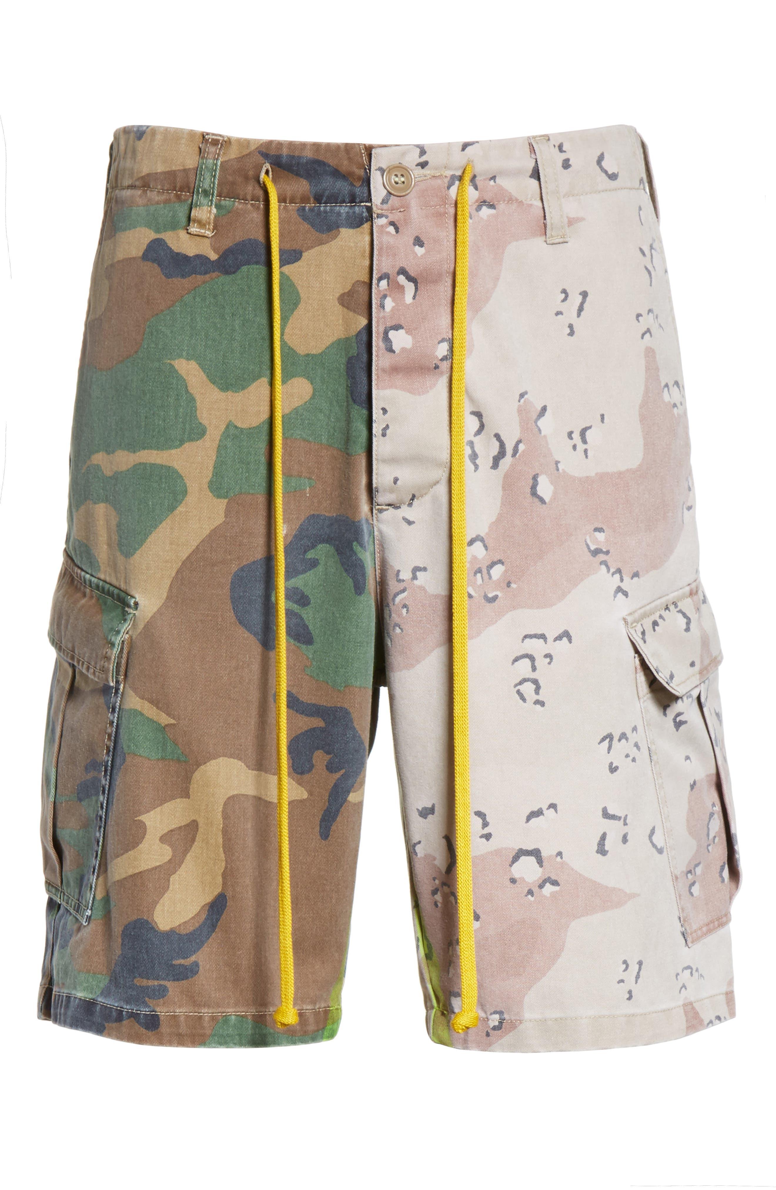 Anasi Camo Cargo Shorts,                             Alternate thumbnail 6, color,                             247