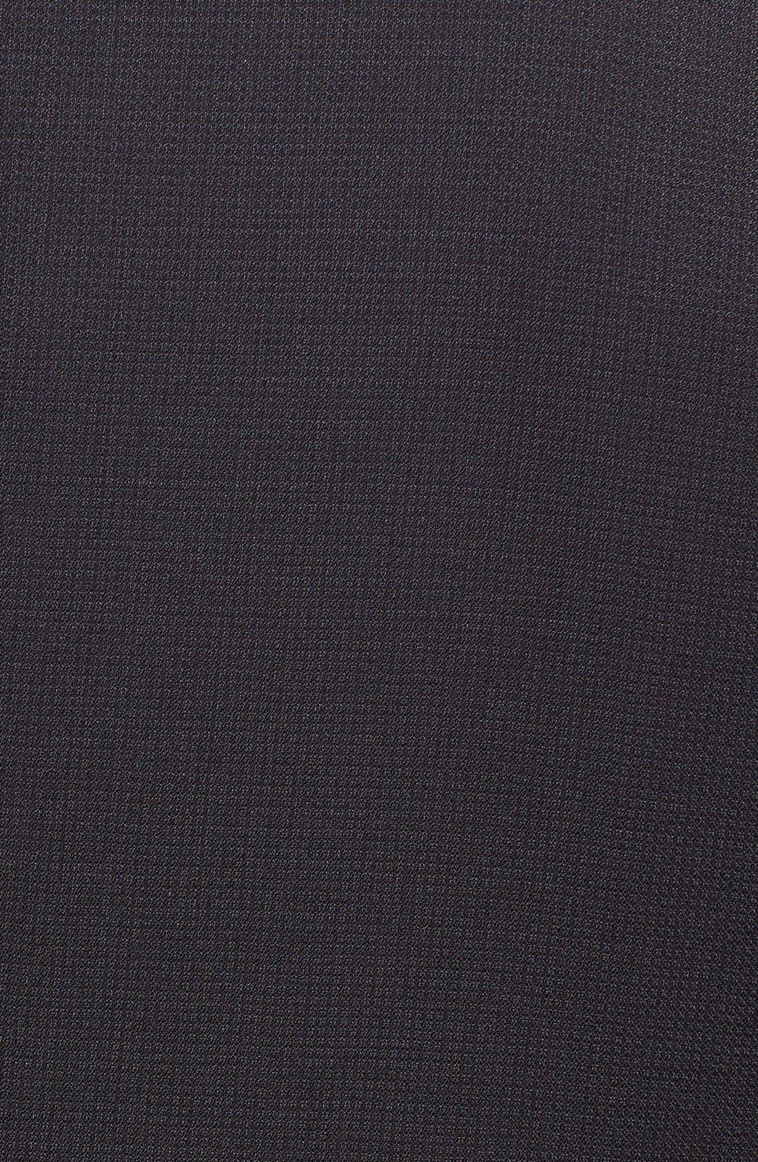 'Huge/Genius' Trim Fit Solid Wool Suit,                             Alternate thumbnail 16, color,                             BLACK