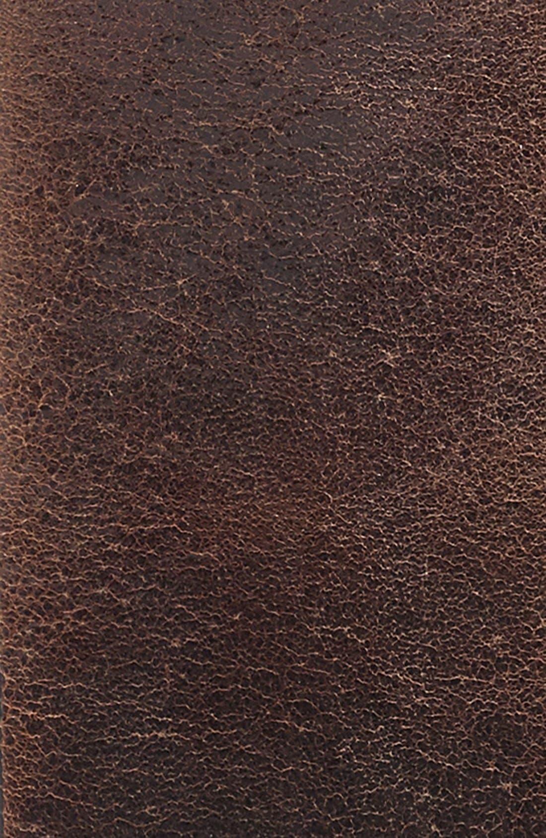 Harness Leather Belt,                             Alternate thumbnail 9, color,