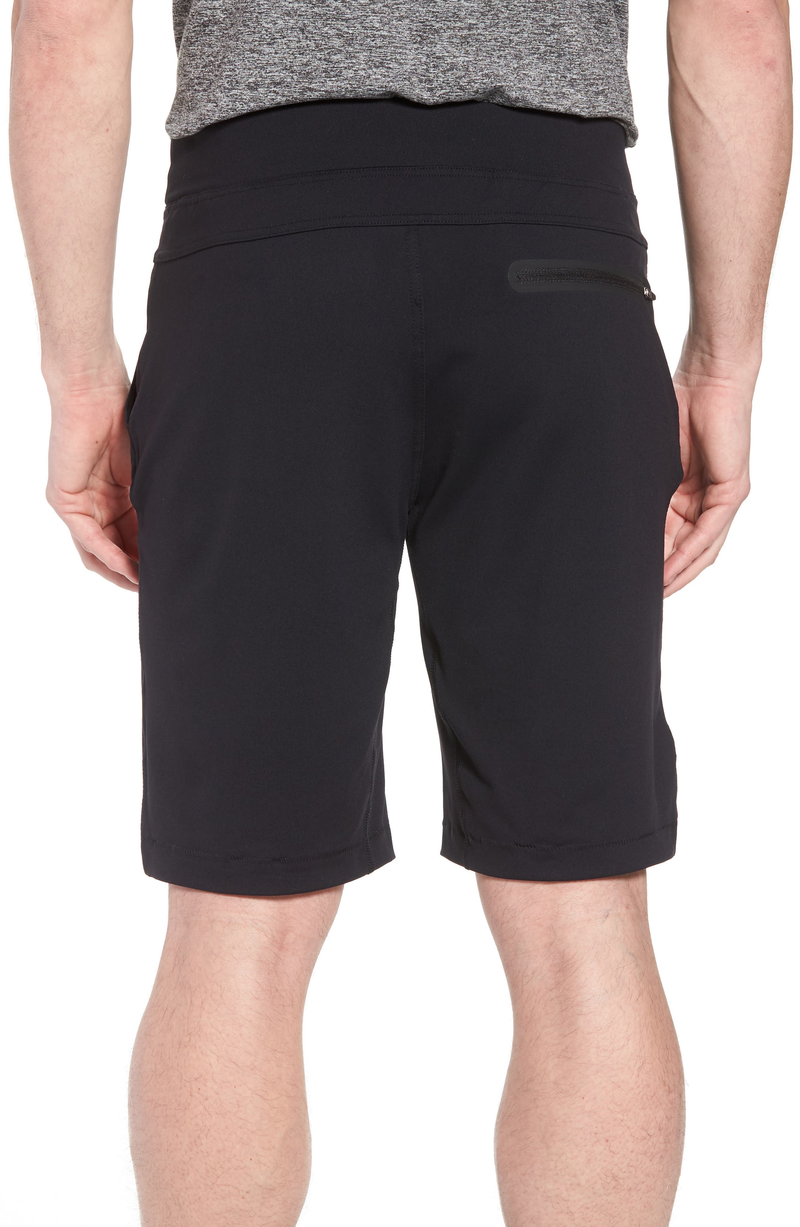 206 Shorts,                             Alternate thumbnail 2, color,                             BLACK