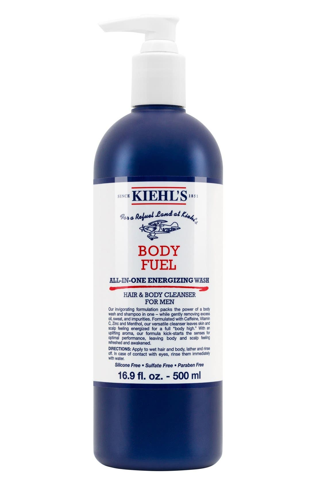 'Body Fuel' All-in-One Energizing & Conditioning Wash,                             Main thumbnail 1, color,                             000