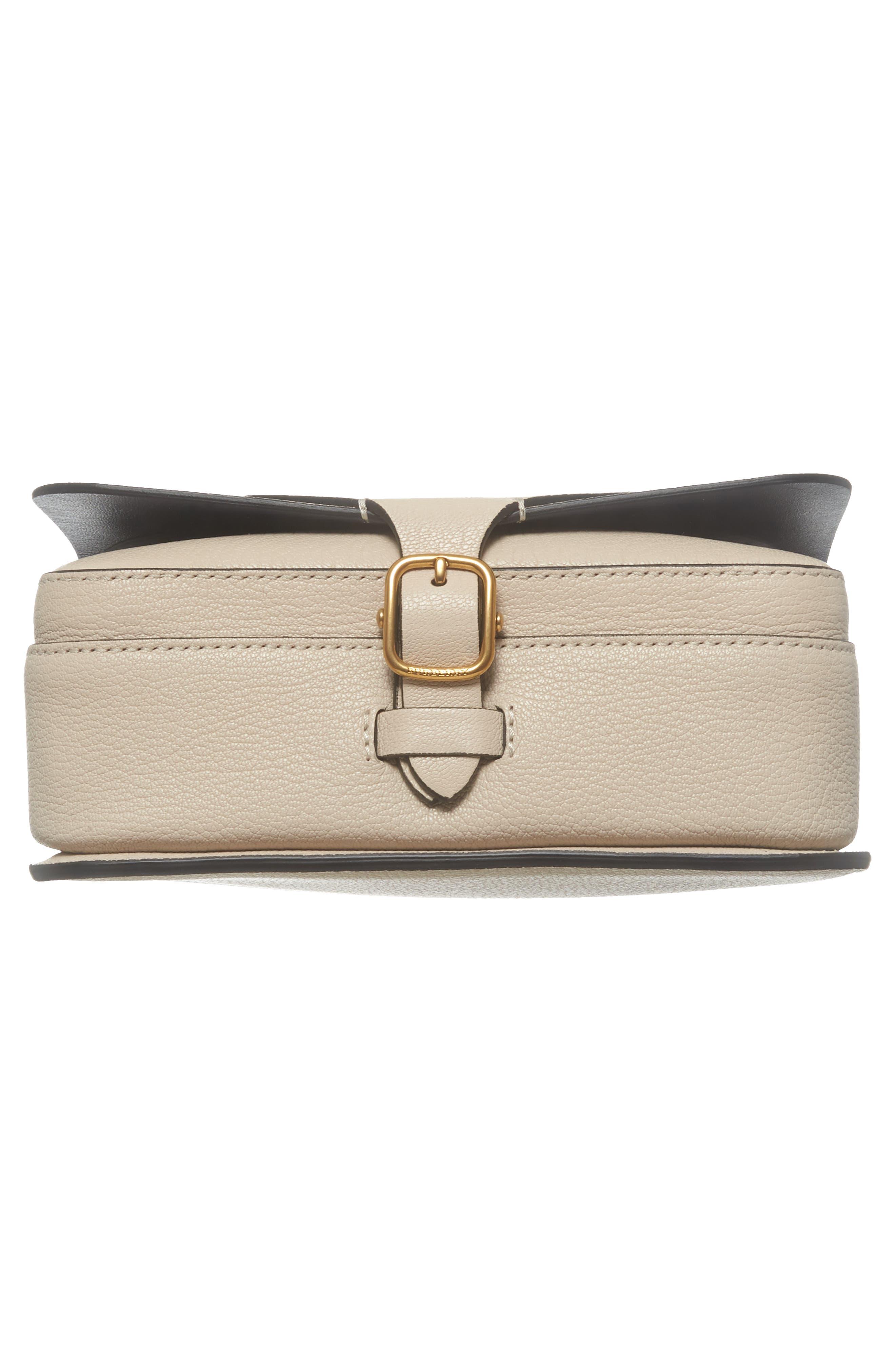 Square Leather Shoulder Bag,                             Alternate thumbnail 6, color,                             250