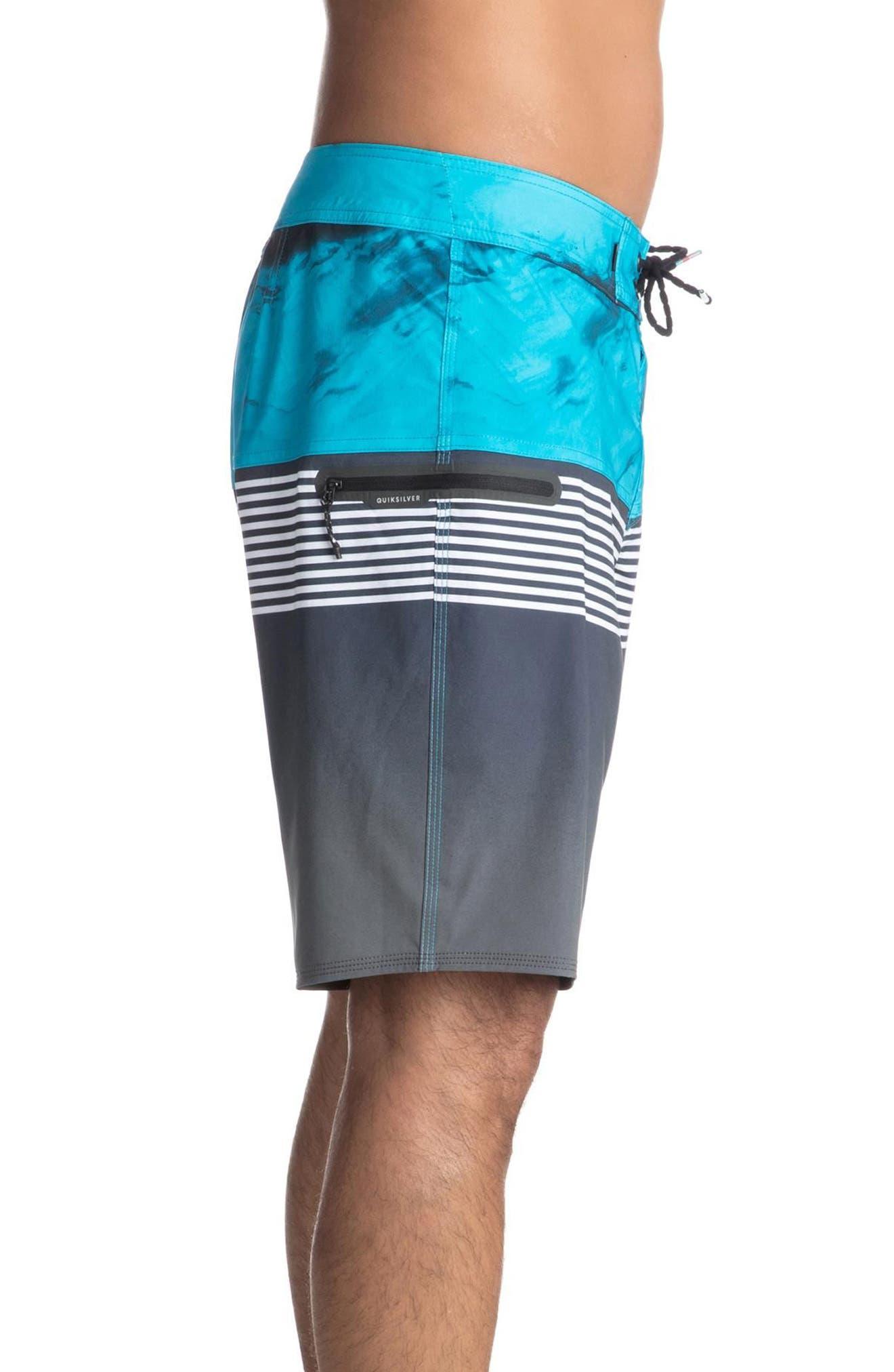 Highline Lava Division Board Shorts,                             Alternate thumbnail 3, color,                             002