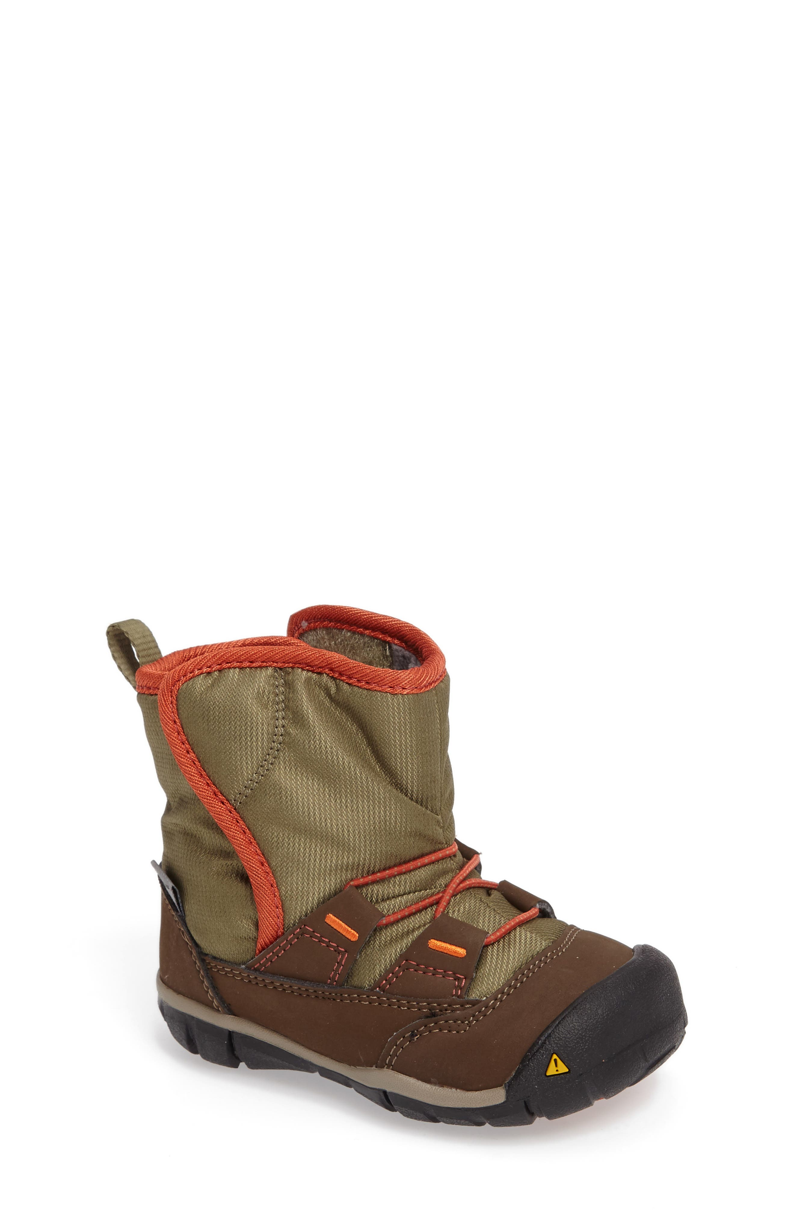 Peek-A-Boot Fleece Lined Boot,                         Main,                         color,
