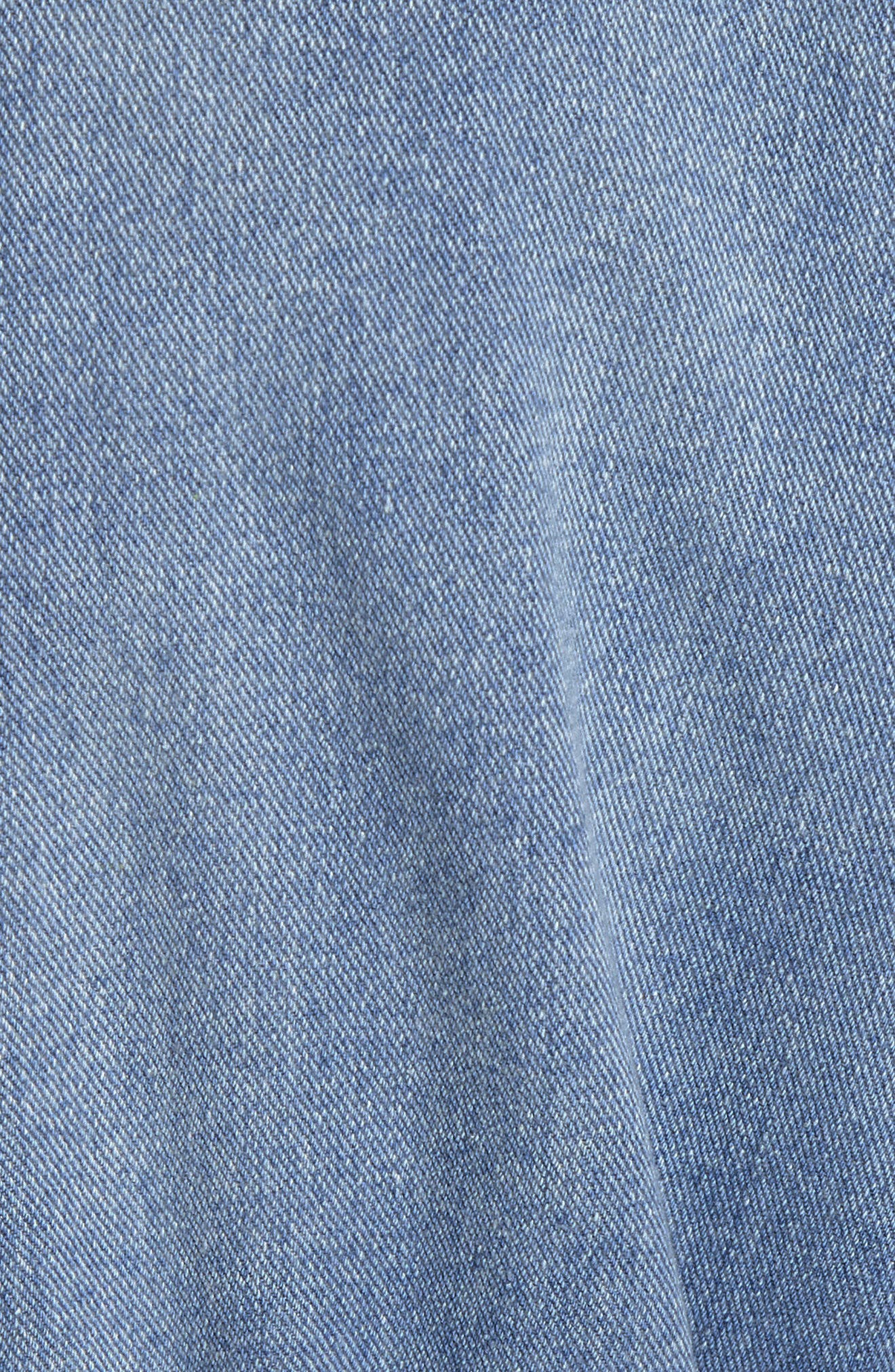Denim Trench Coat,                             Alternate thumbnail 5, color,                             420