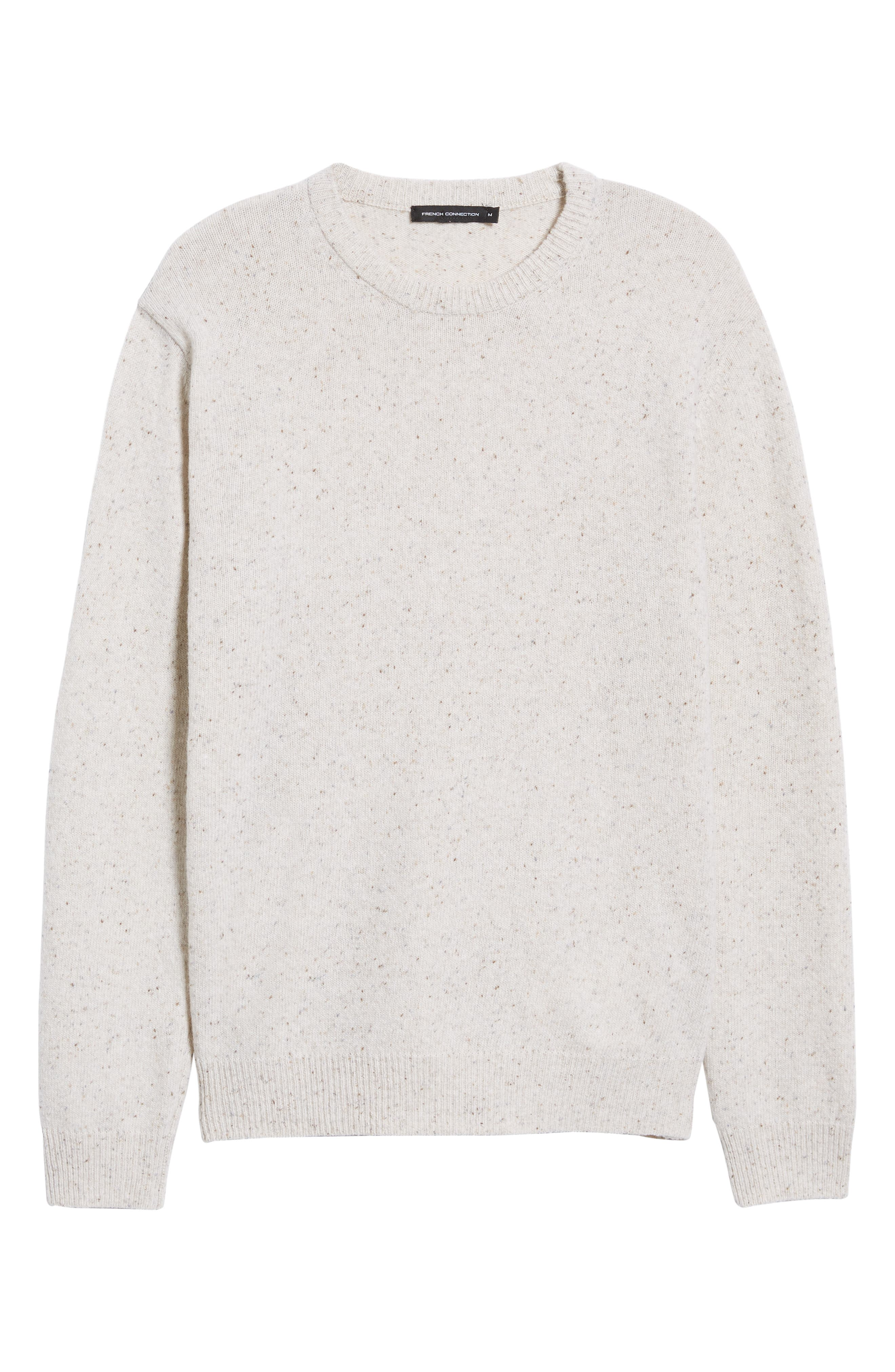 Donegal Sweater,                             Alternate thumbnail 6, color,                             CUBA WHITE
