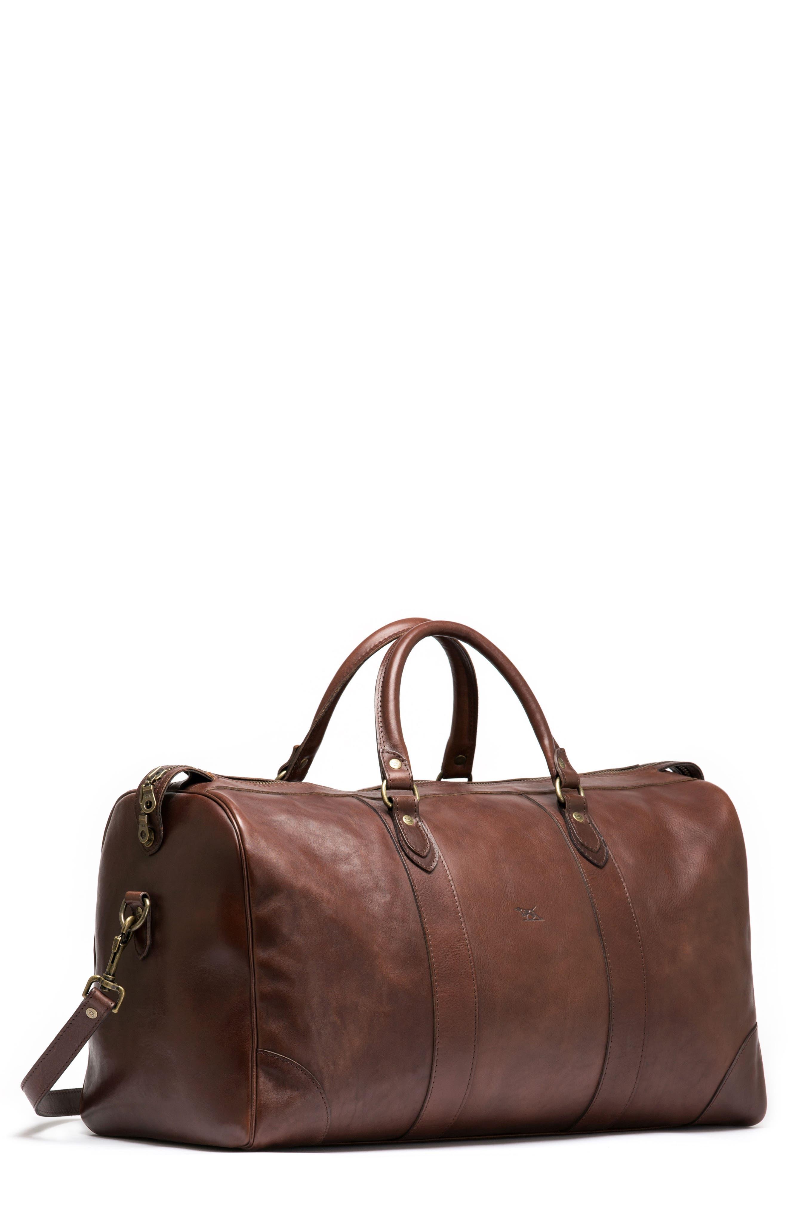RODD & GUNN Leather Duffel Bag, Main, color, 216