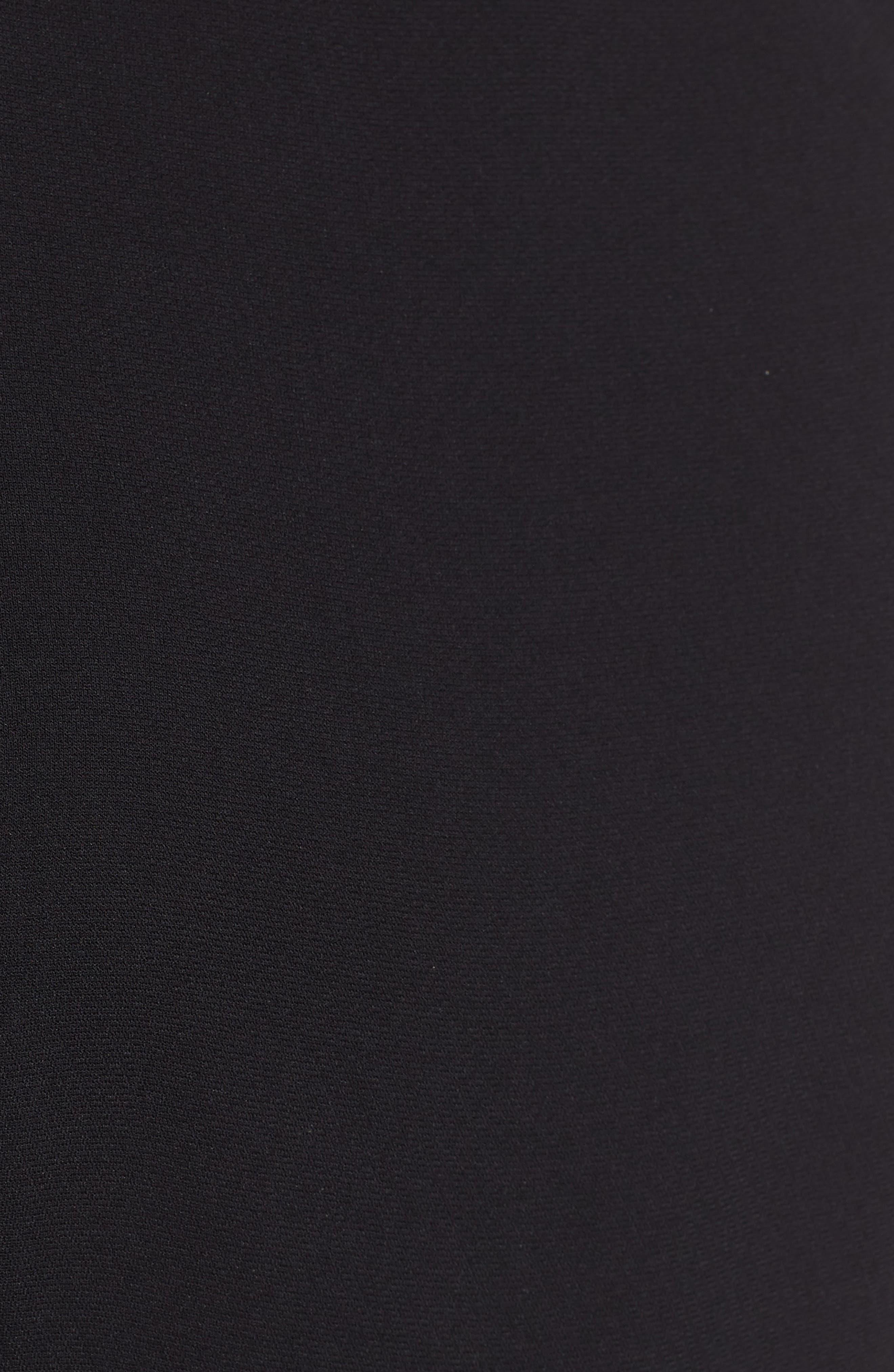 Buckle Waist Jumpsuit,                             Alternate thumbnail 6, color,                             BLACK