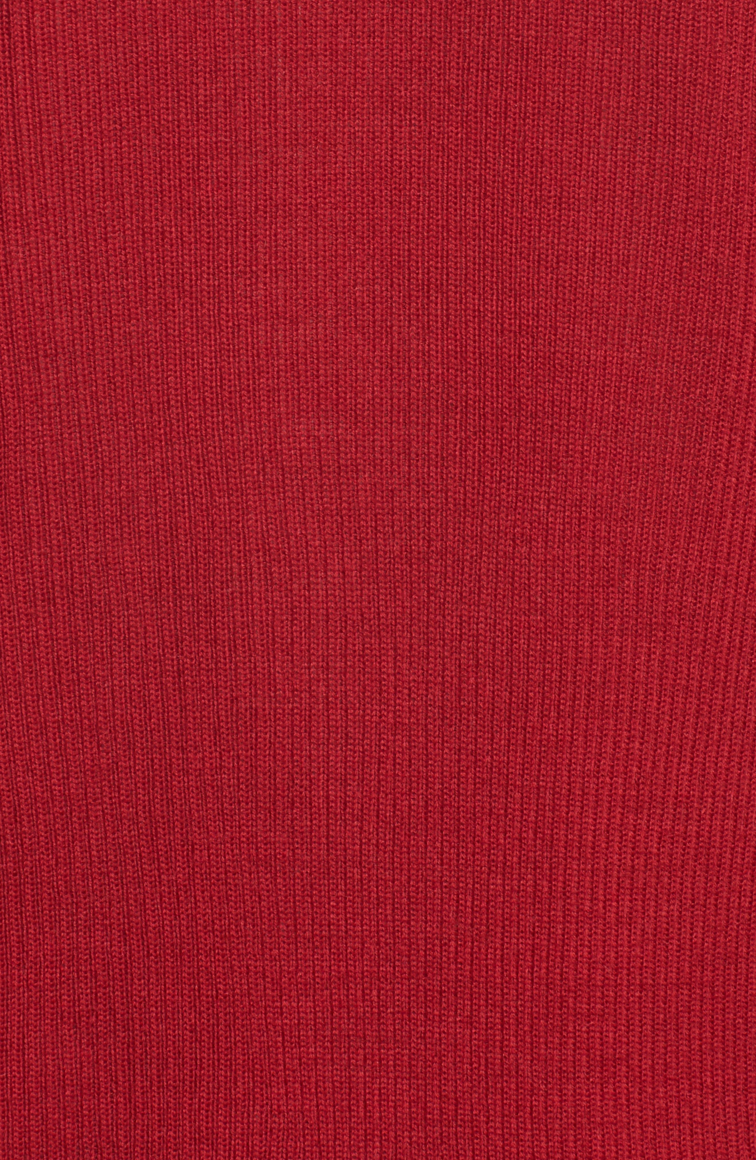 Rib Knit Wool Blend Cardigan,                             Alternate thumbnail 96, color,