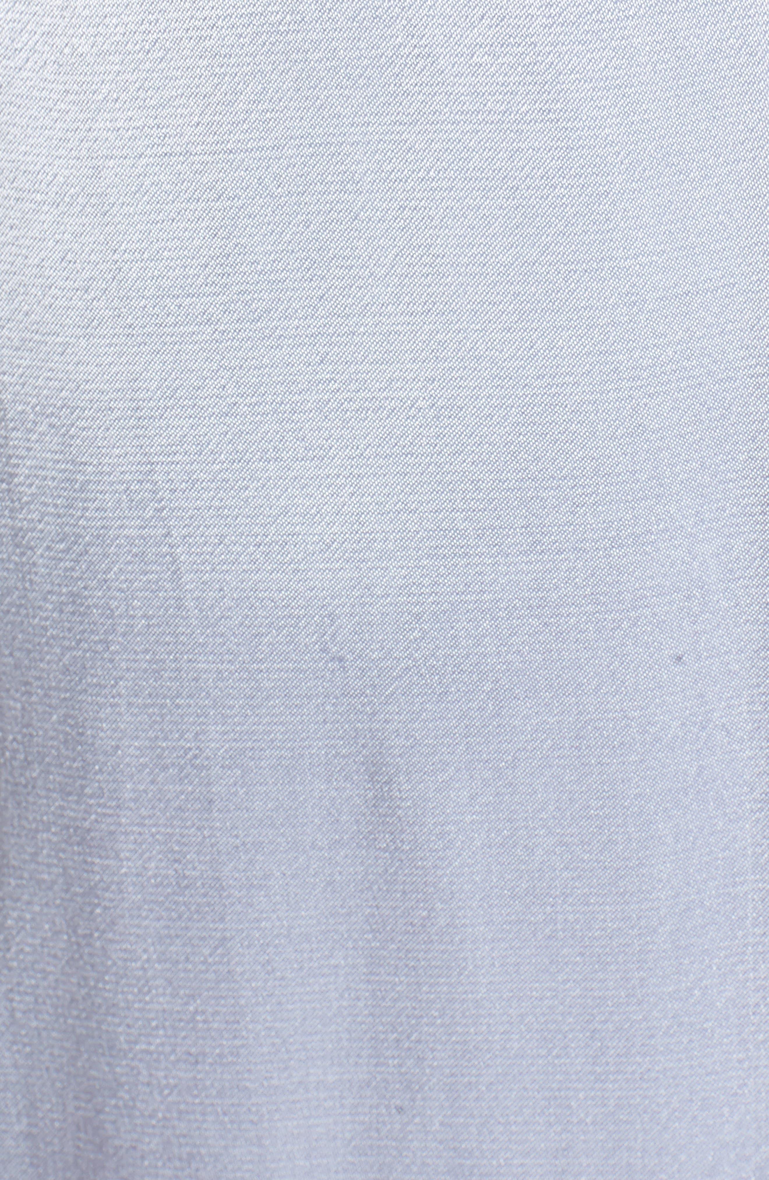 Teagan Satin Wrap Maxi Dress,                             Alternate thumbnail 5, color,                             400