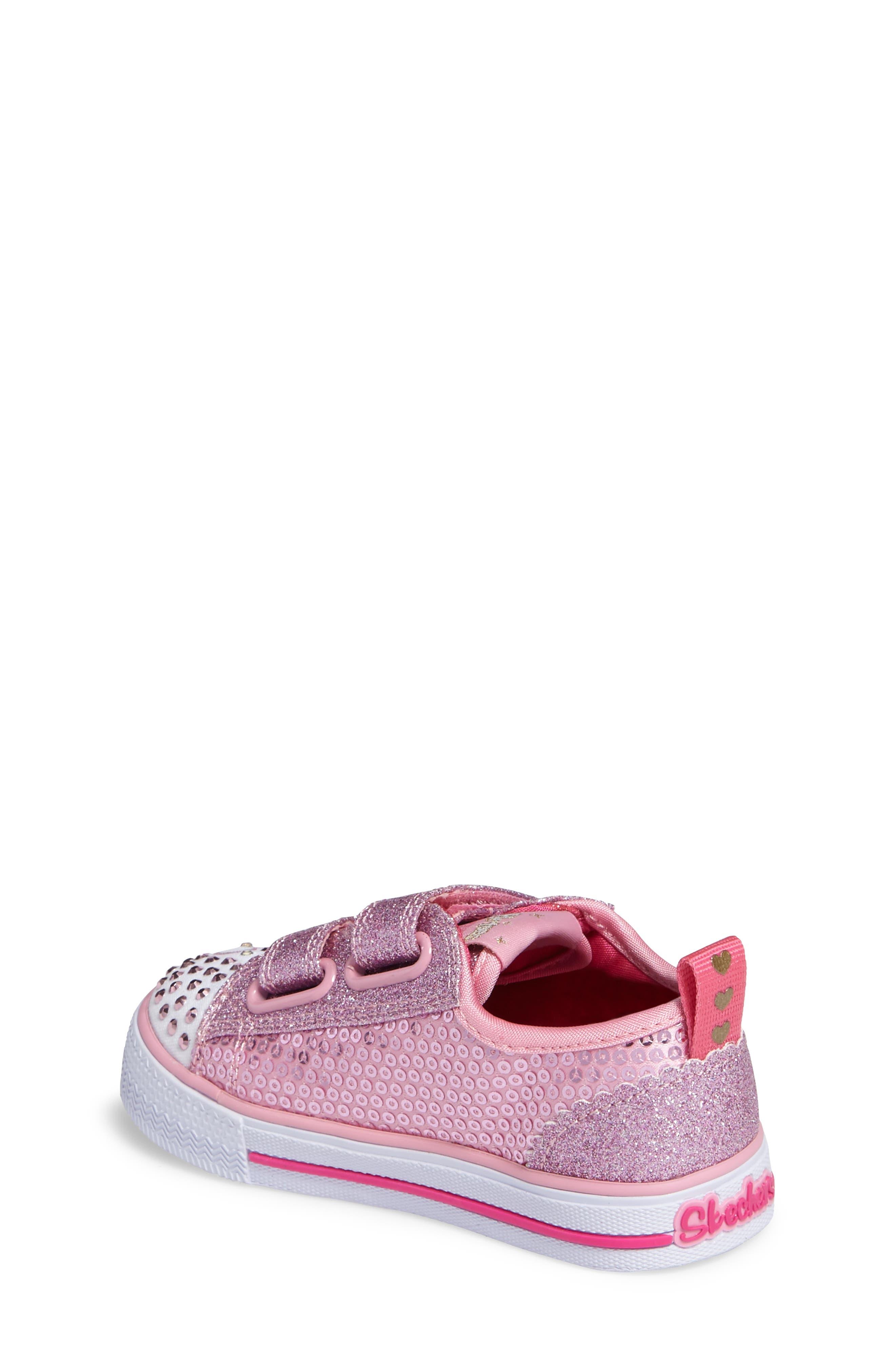 Shuffles - Itsy Bitsy Light-Up Sneaker,                             Alternate thumbnail 9, color,