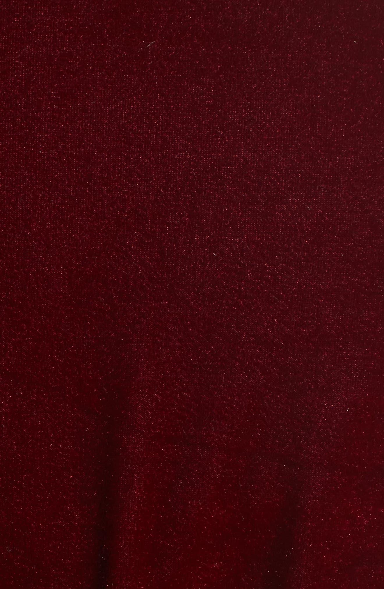 L'Academie The Adela Velvet Smoking Jacket,                             Alternate thumbnail 5, color,                             930