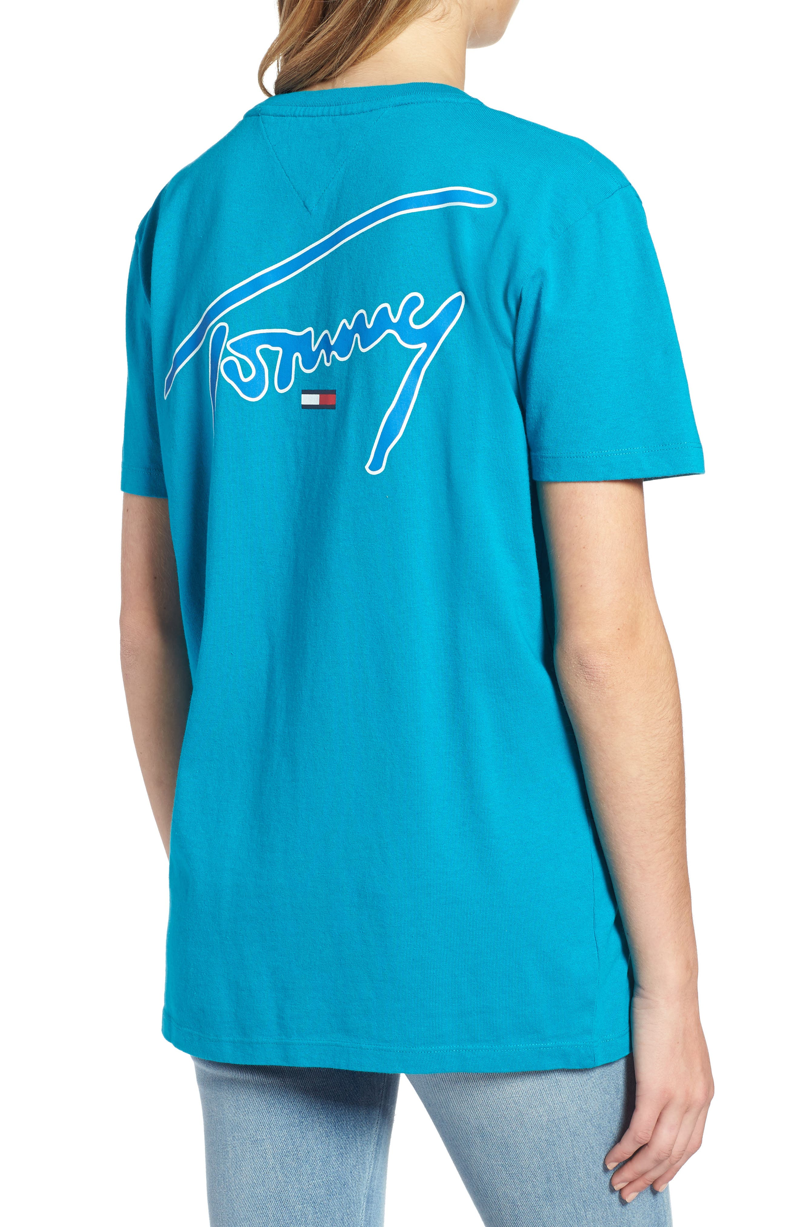 TJW Embroidered Logo Tee,                             Alternate thumbnail 2, color,                             428