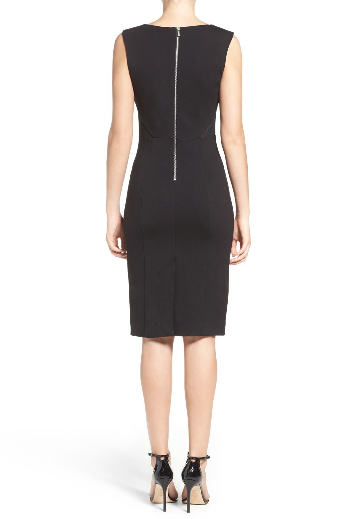 Lulu Body-Con Dress,                             Alternate thumbnail 3, color,                             001