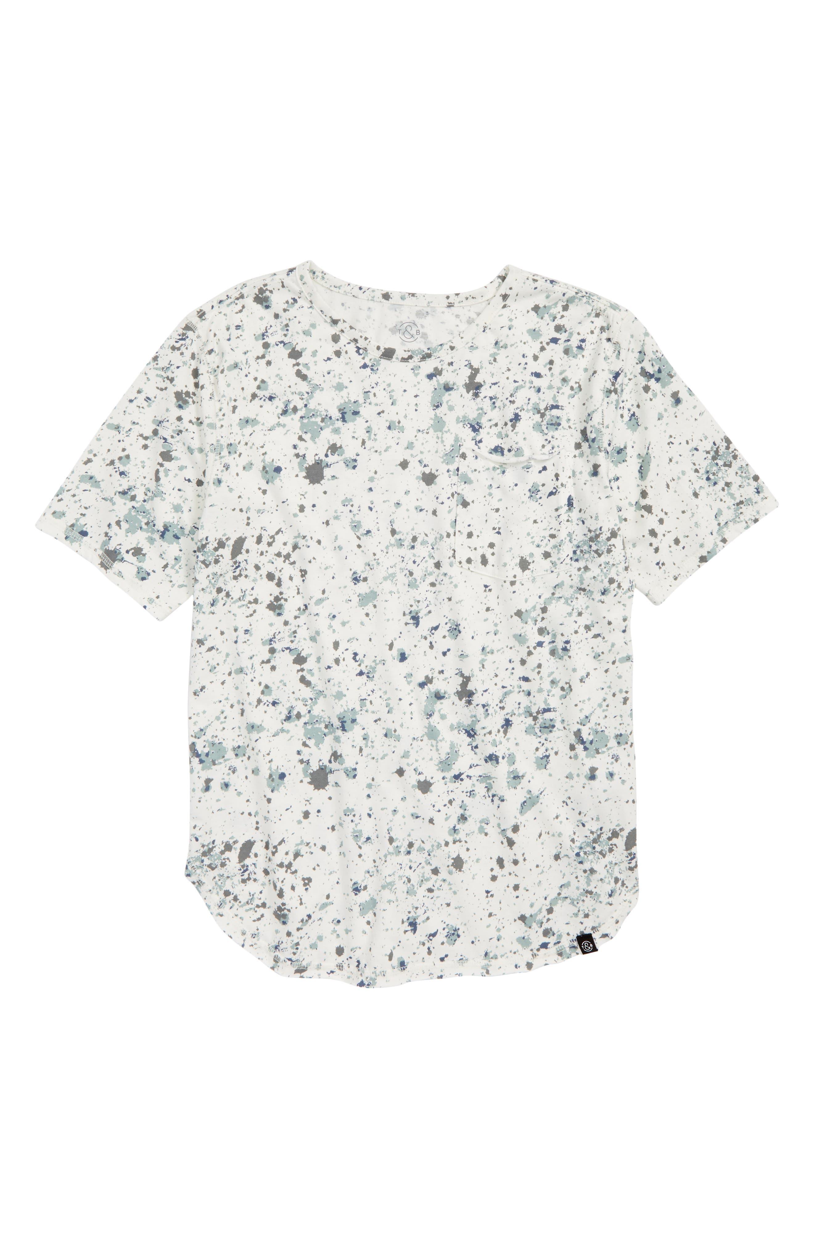 Painted T-Shirt,                             Main thumbnail 1, color,