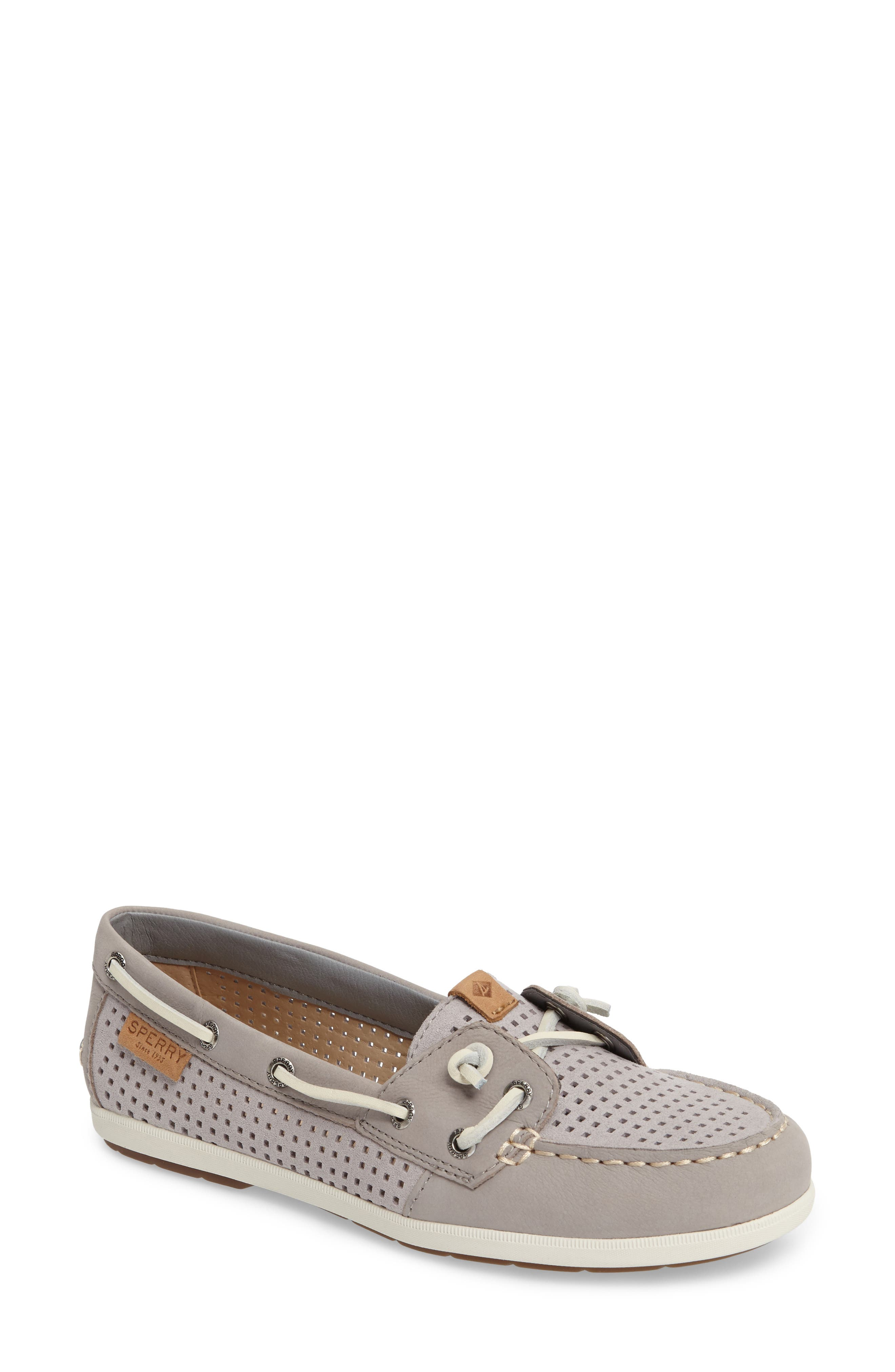 Coil Ivy Boat Shoe,                         Main,                         color, 020