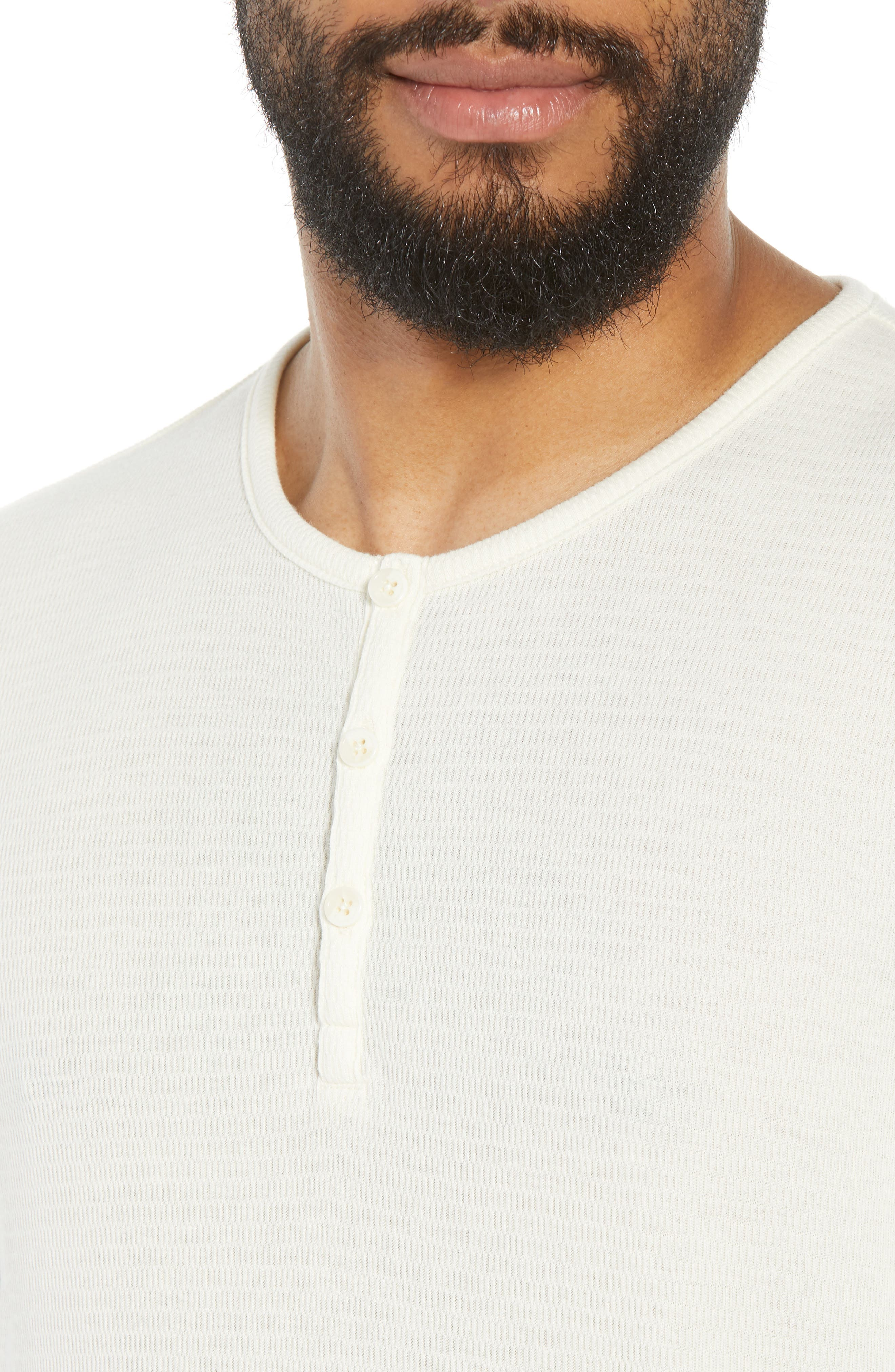Longline Thermal Henley,                             Alternate thumbnail 4, color,                             900