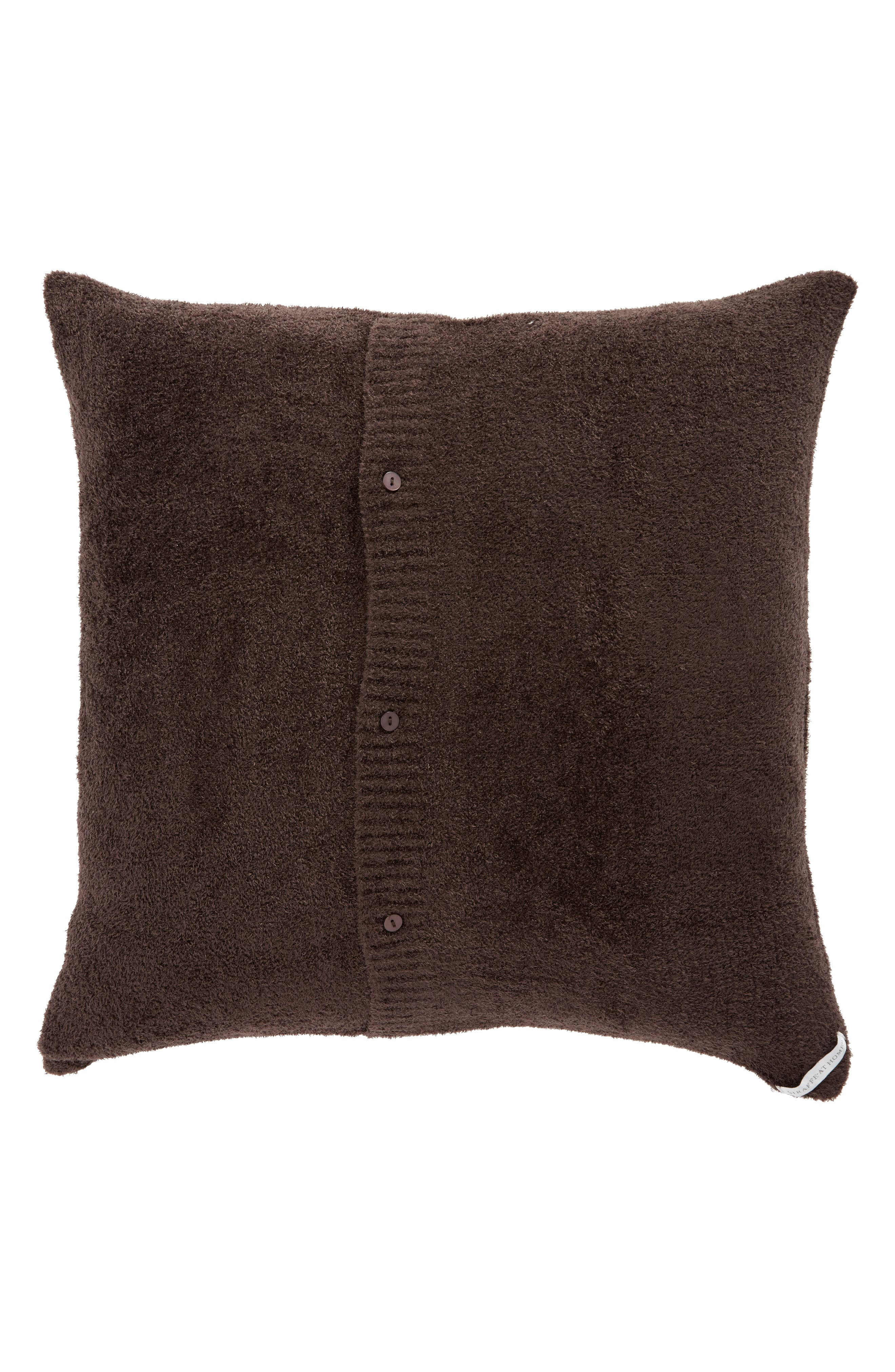 Dolce Love Throw Pillow,                             Alternate thumbnail 2, color,                             CHOCOLATE
