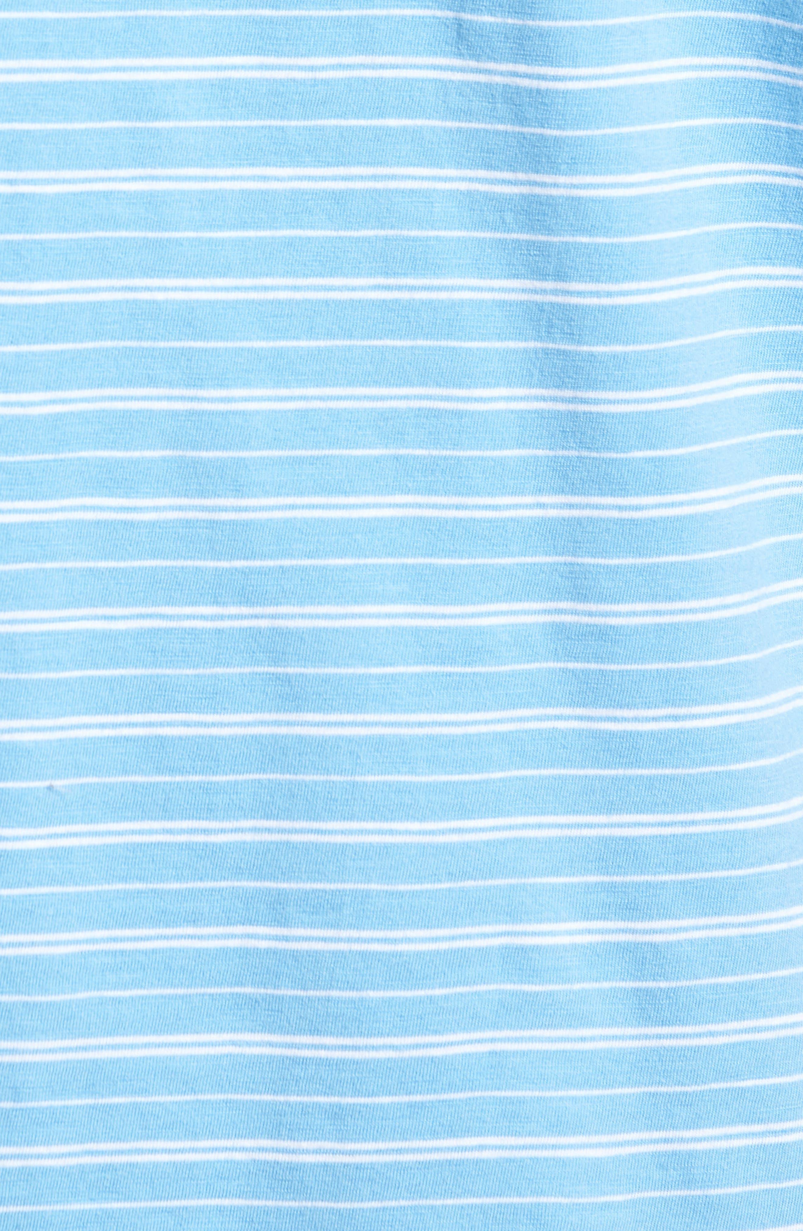 Stripe Jennings Henley,                             Alternate thumbnail 5, color,                             392
