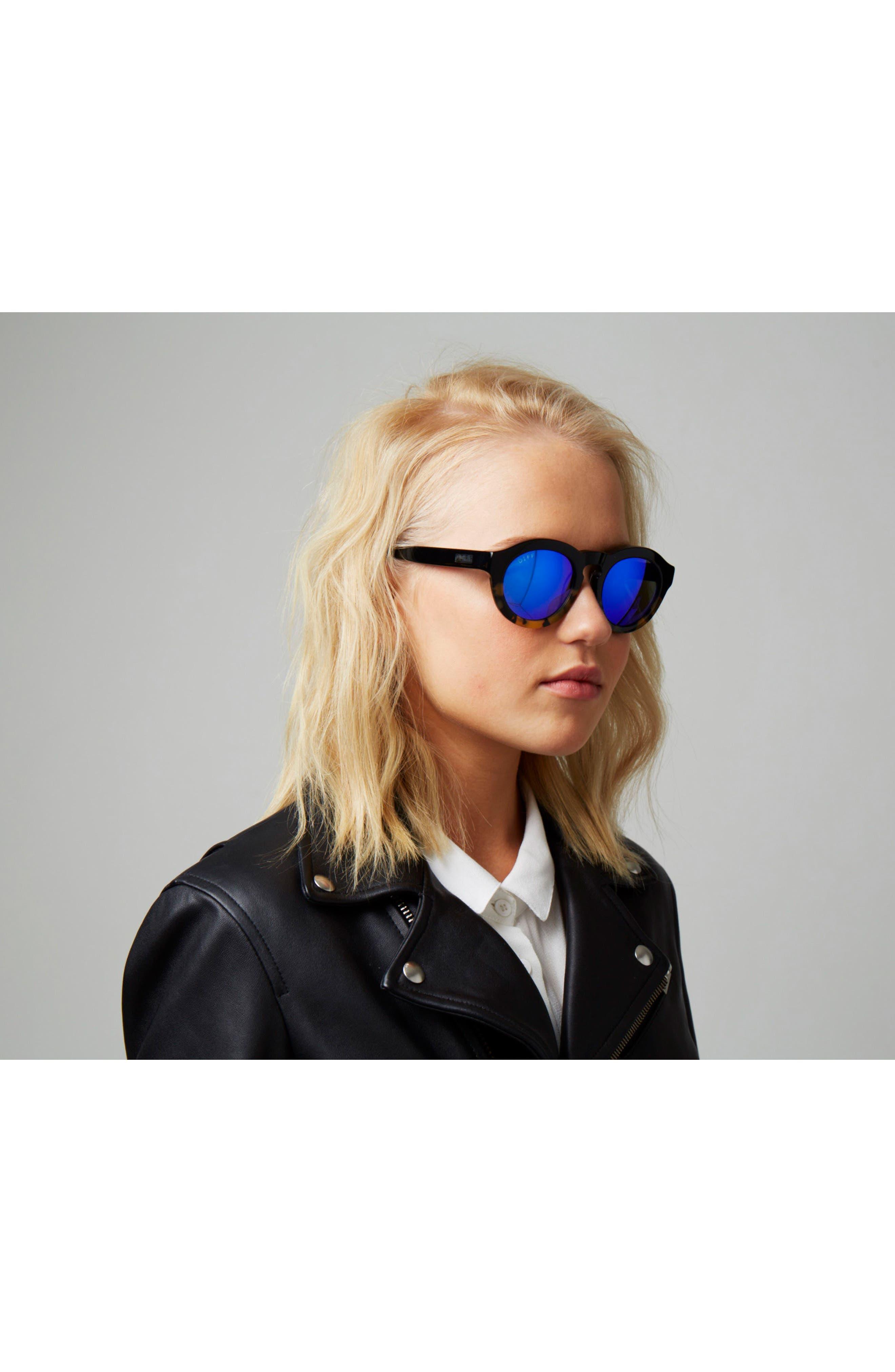 Dime 48mm Retro Sunglasses,                             Alternate thumbnail 33, color,