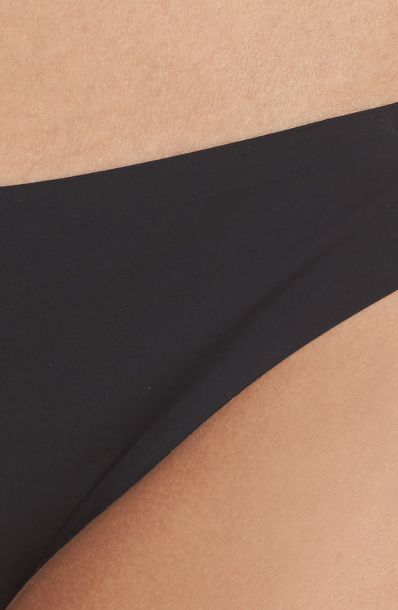 Intimately FP Smooth Thong,                             Alternate thumbnail 4, color,                             001