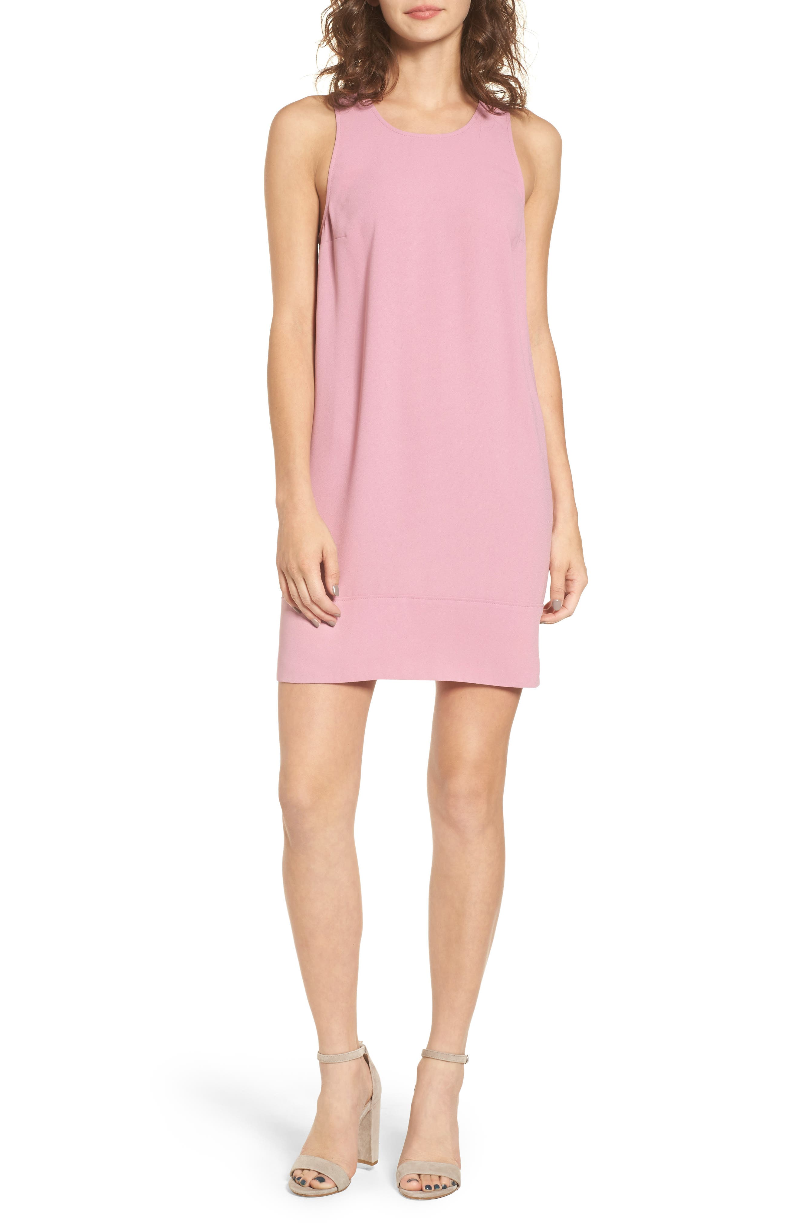 Racerback Shift Dress,                             Main thumbnail 16, color,