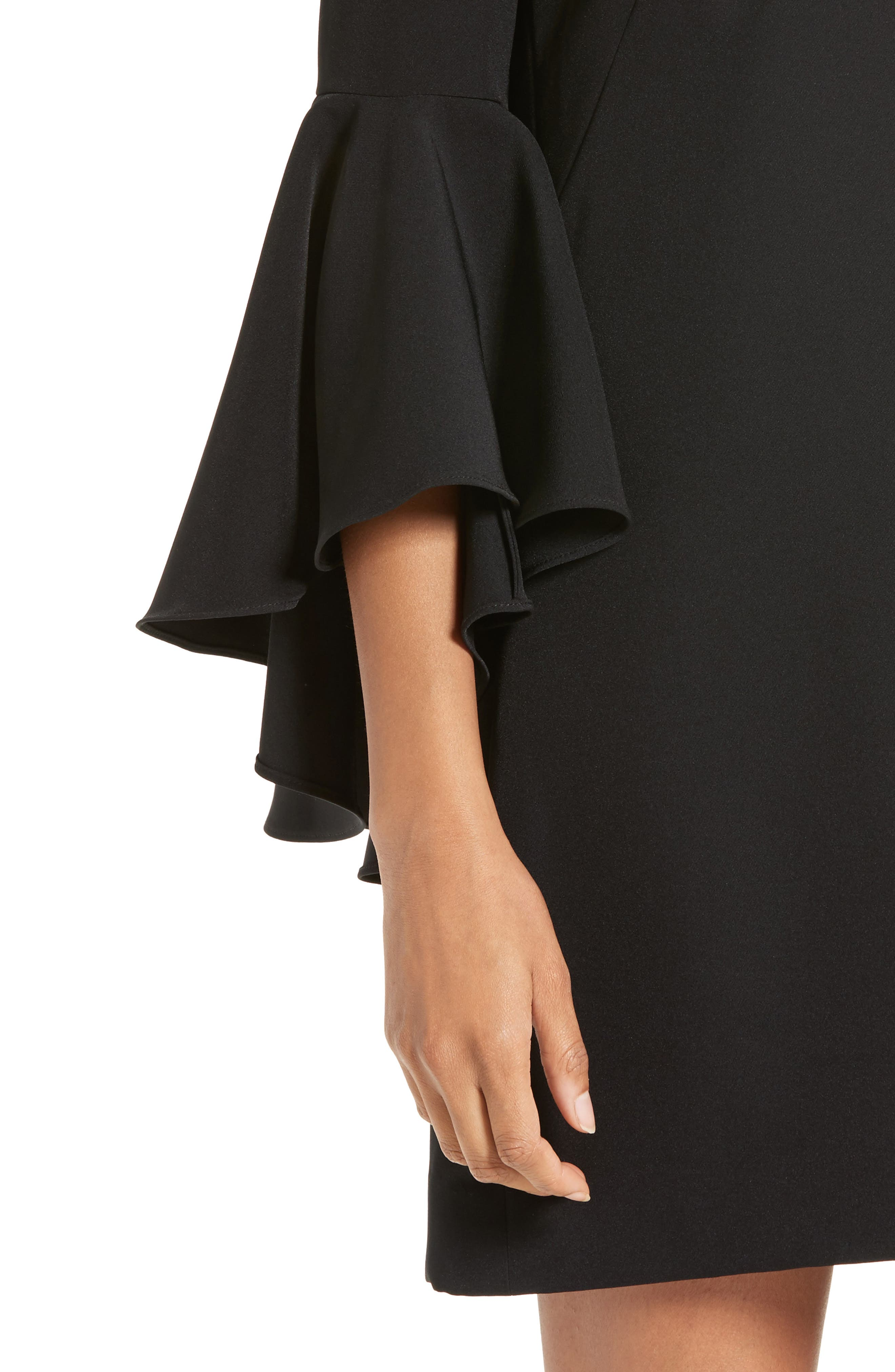 Nicole Bell Sleeve Dress,                             Alternate thumbnail 46, color,
