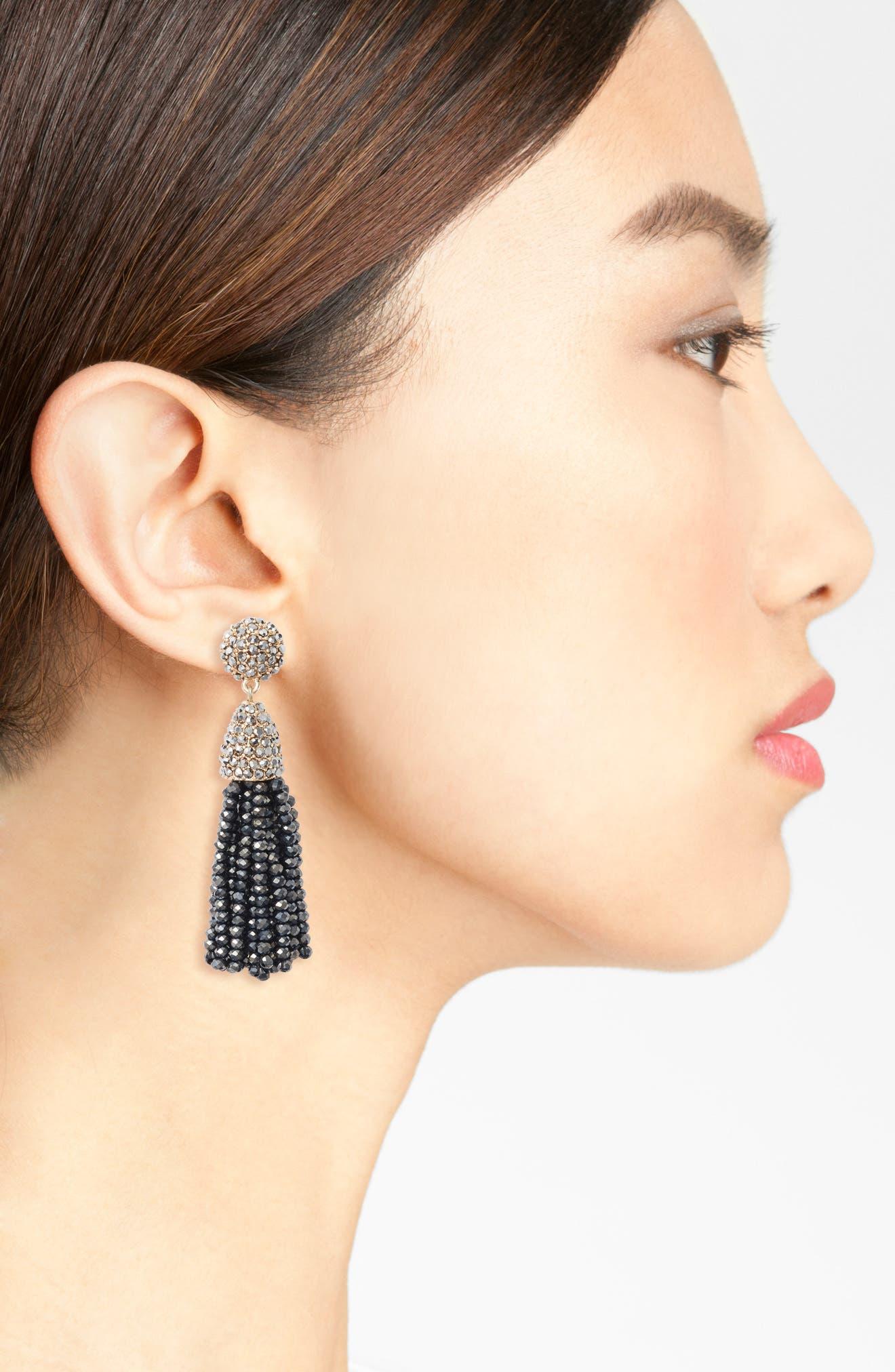 BAUBLEBAR,                             Mini Metallic Pinata Statement Earrings,                             Alternate thumbnail 2, color,                             040