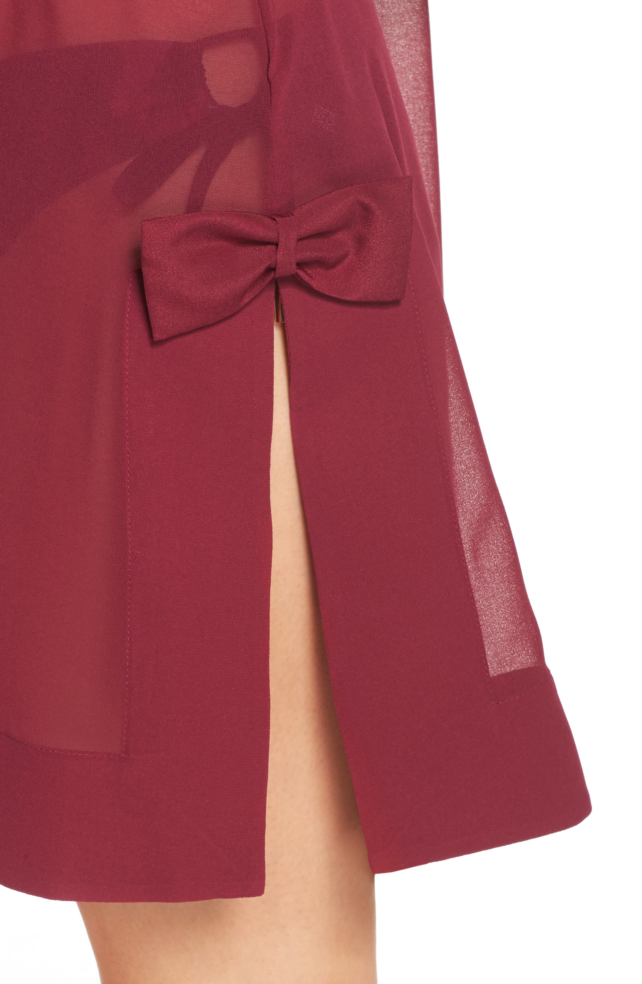 Anete Bardot Cover-Up Dress,                             Alternate thumbnail 4, color,                             501